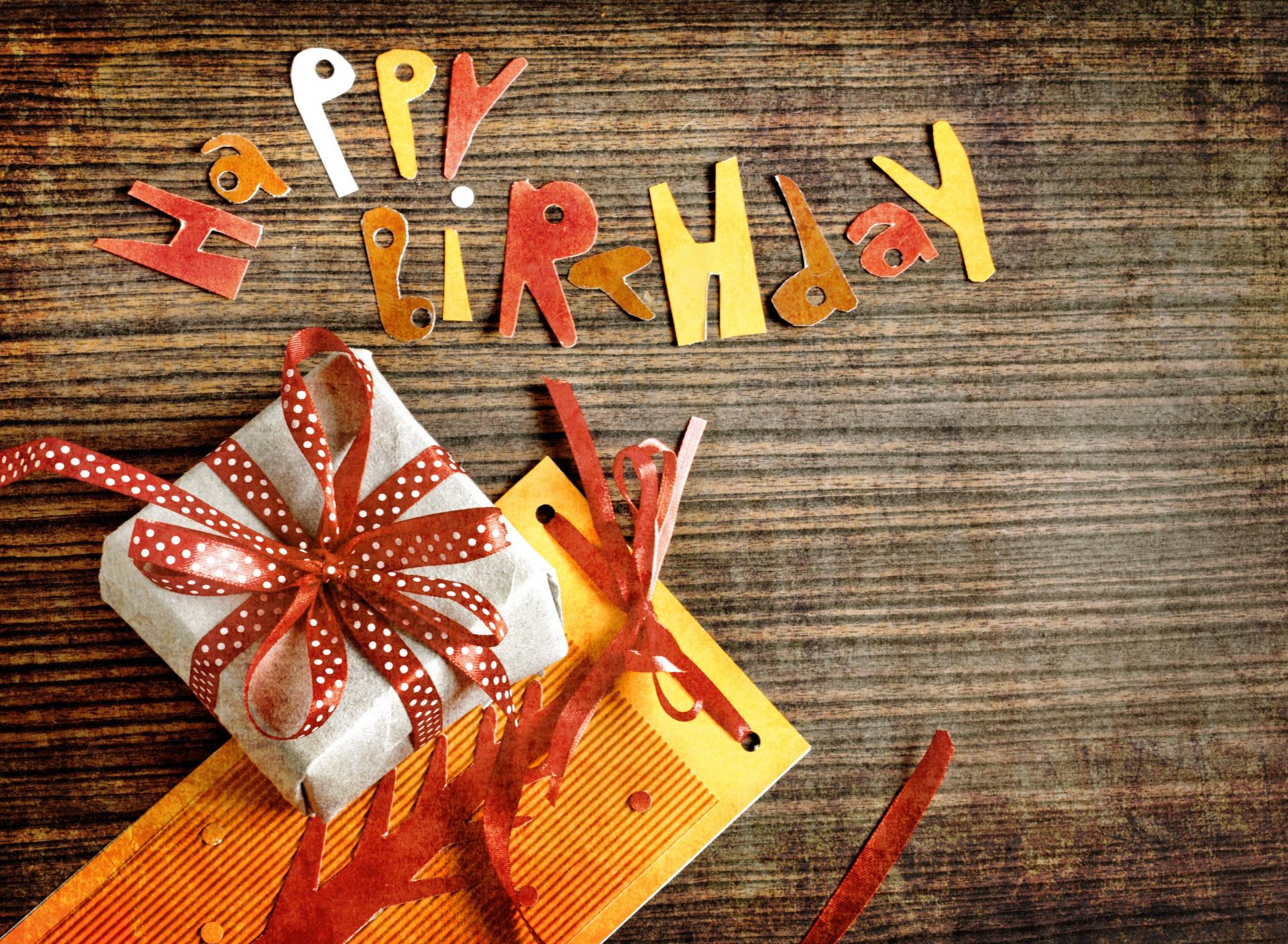 Креативные поздравления с днем рождения девушки