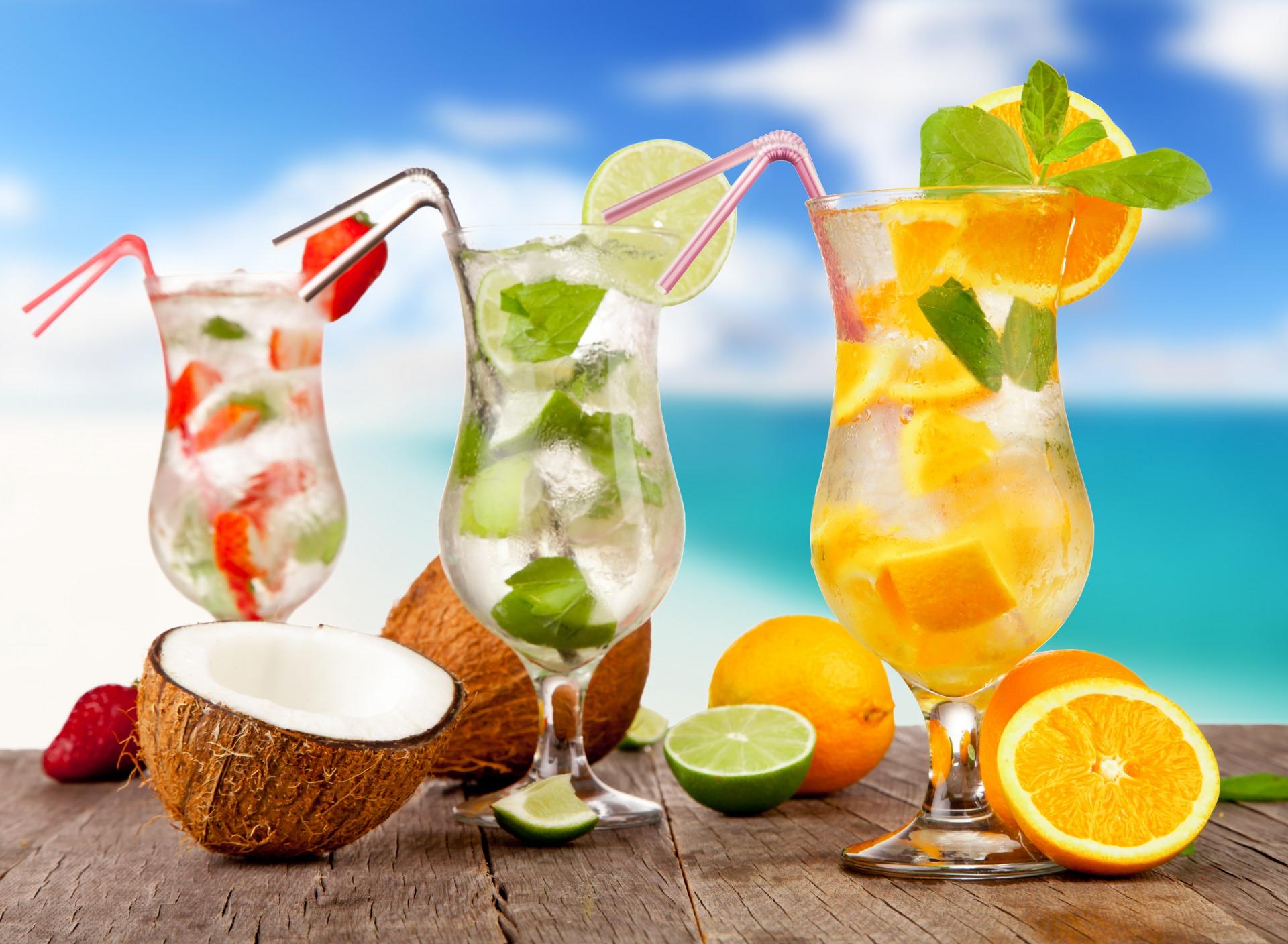 Лето коктейль картинки