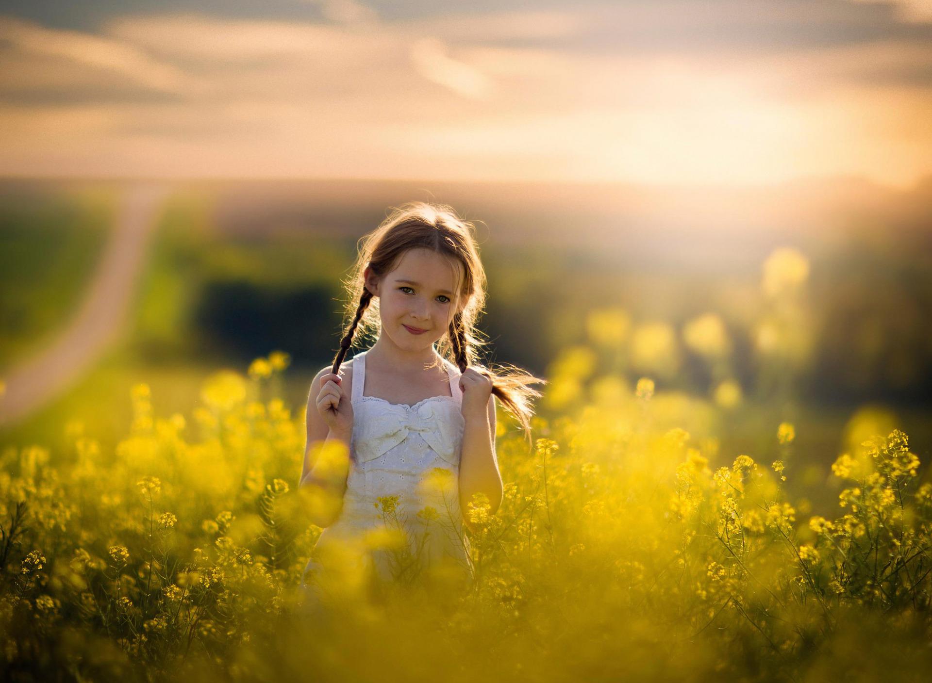 Картинки девочек лето