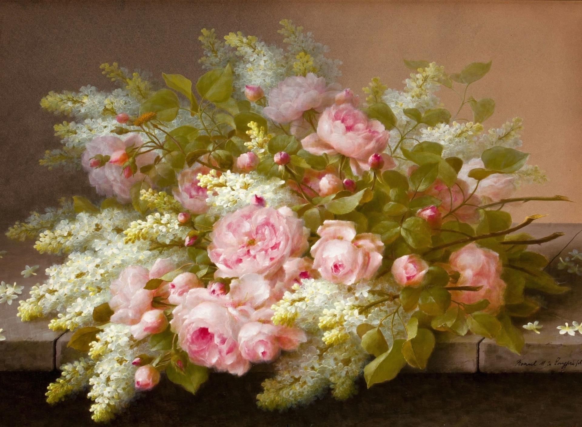 Ретро фото цветы