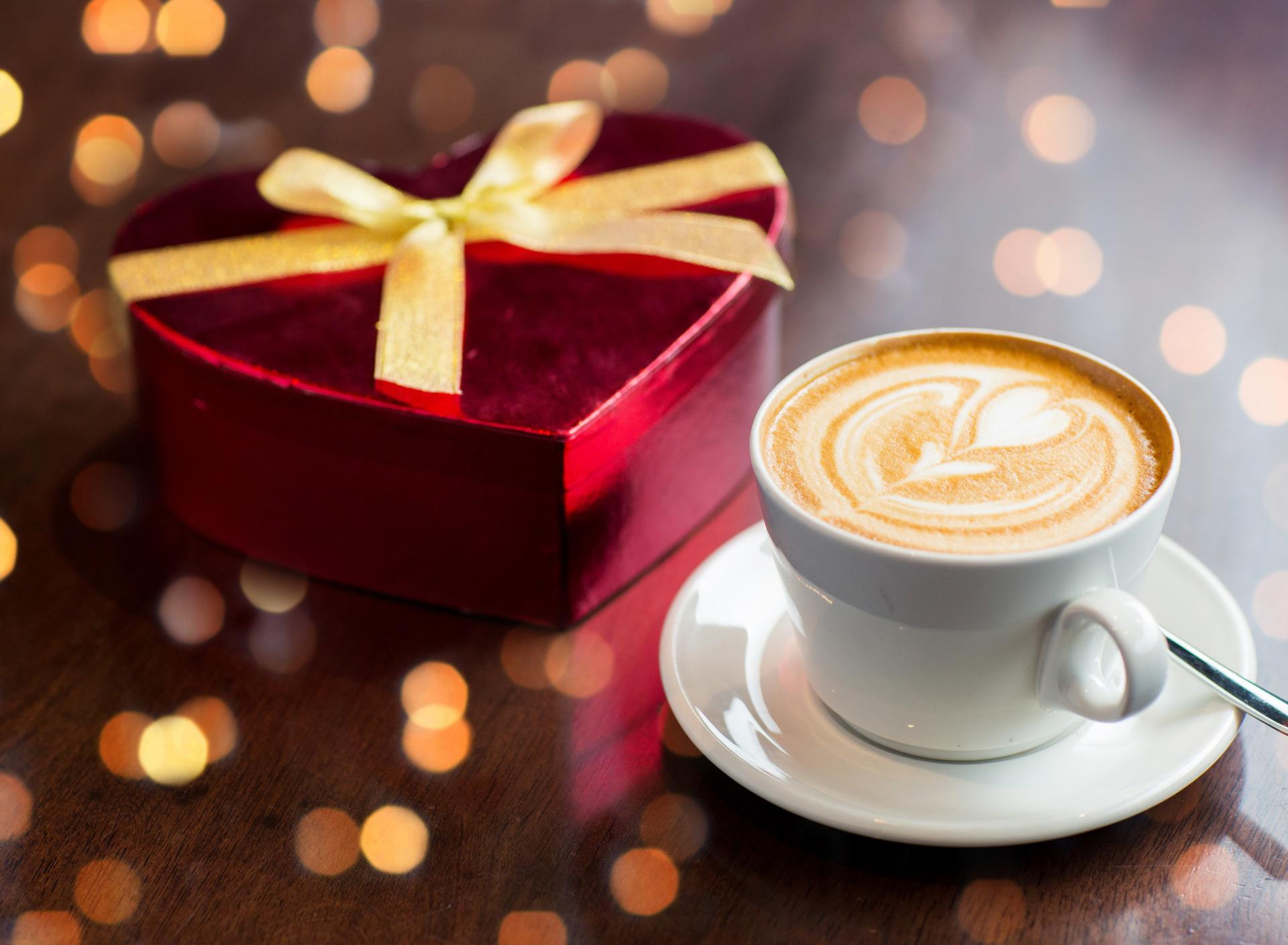 Картинки романтика кофе