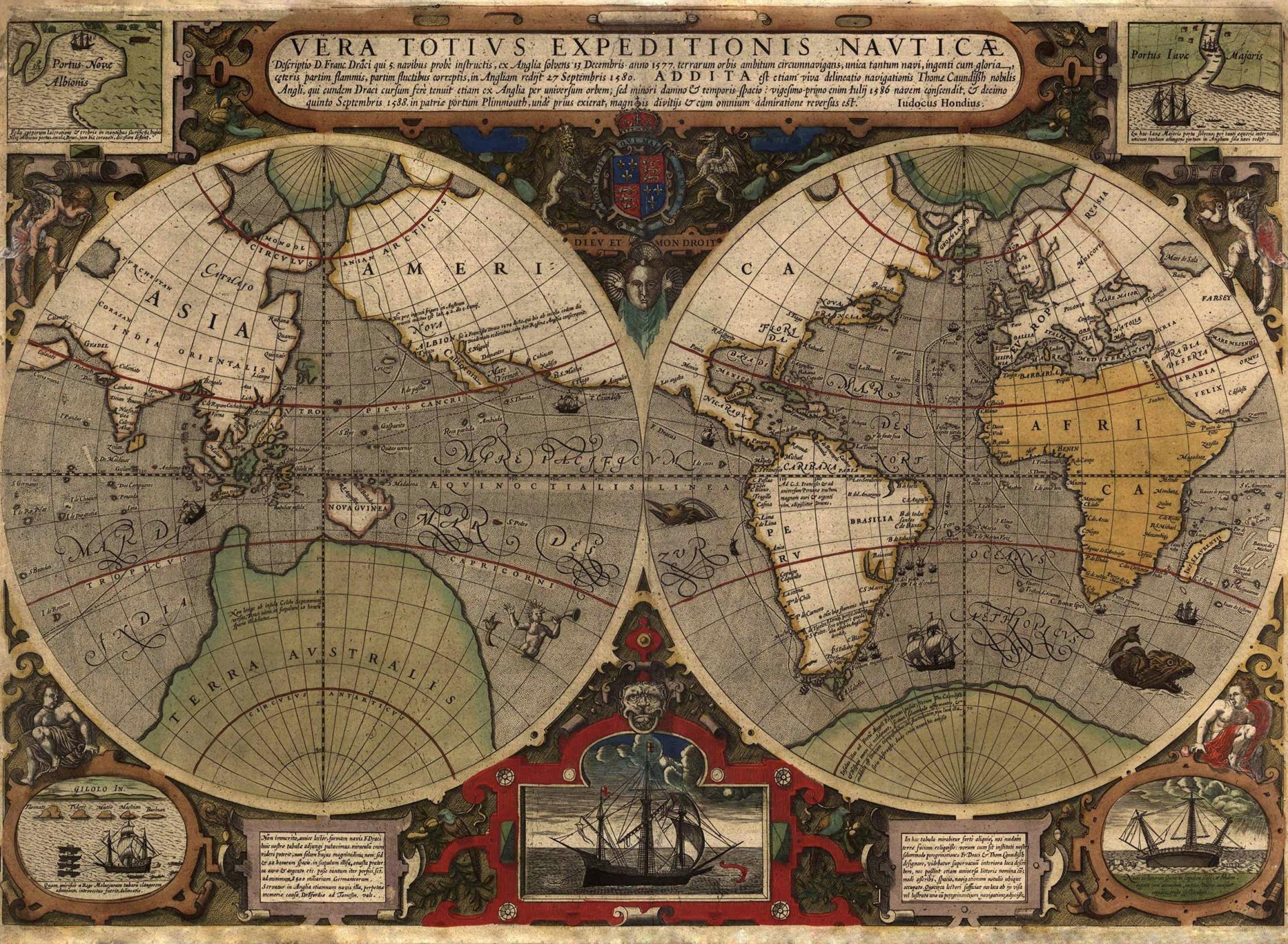 исторические карты мира фото комментах
