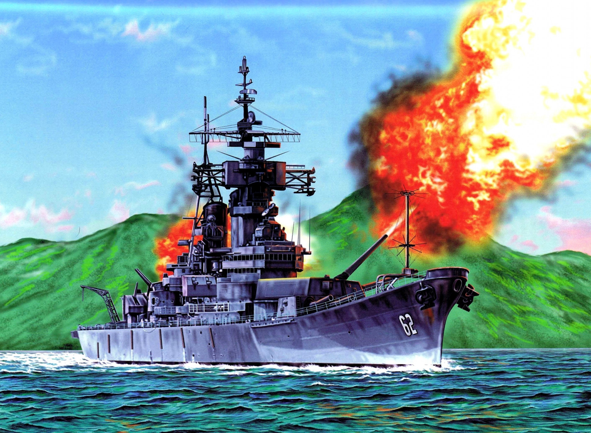 военные корабли цветные картинки другом снимке тоби