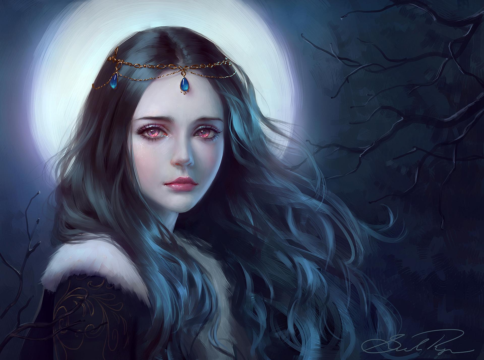 Грустные и красивые картинки с эльфийскими девушками, днем рождения