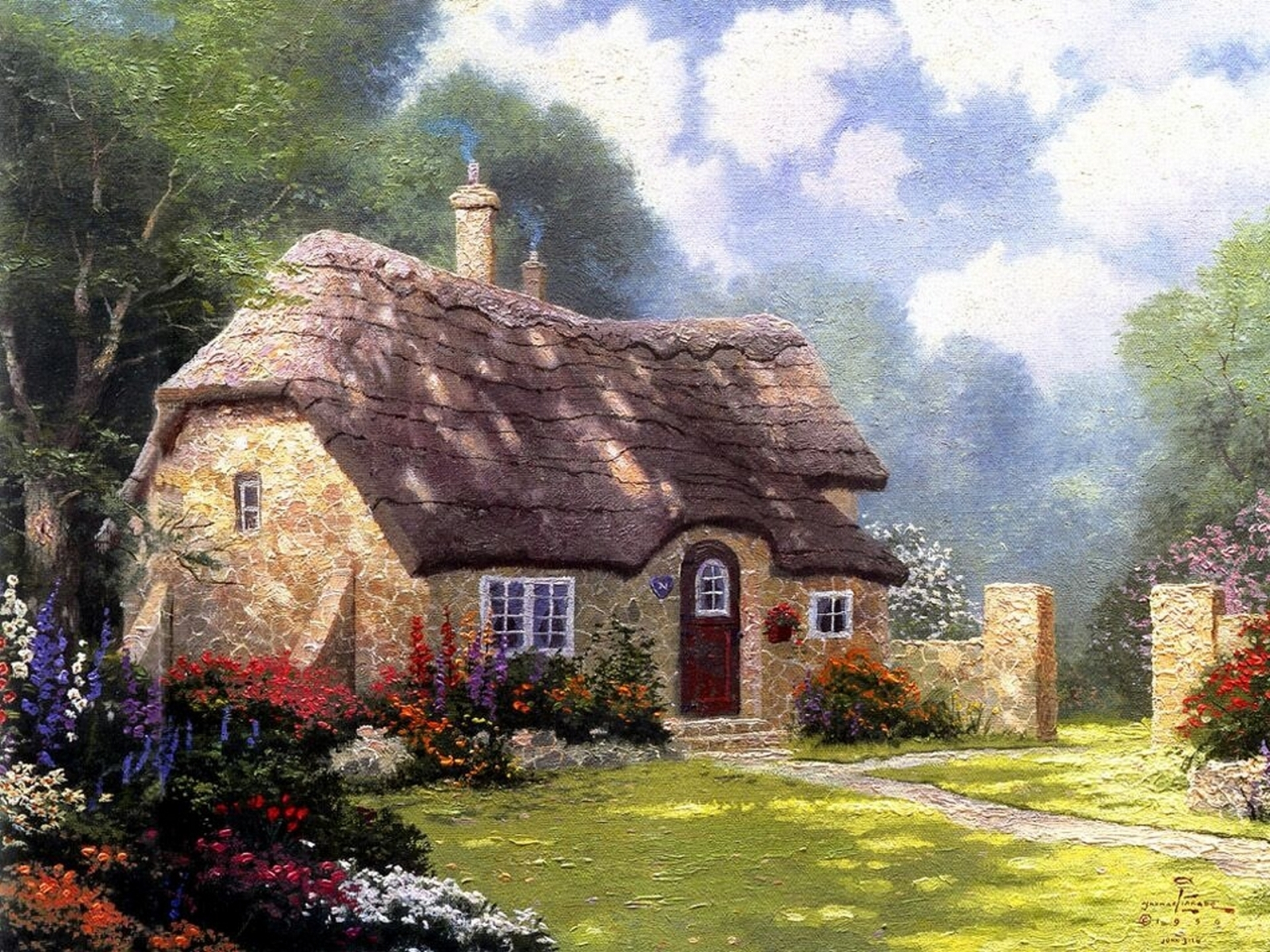 видимо отношусь картинки уютных домиков прекрасно