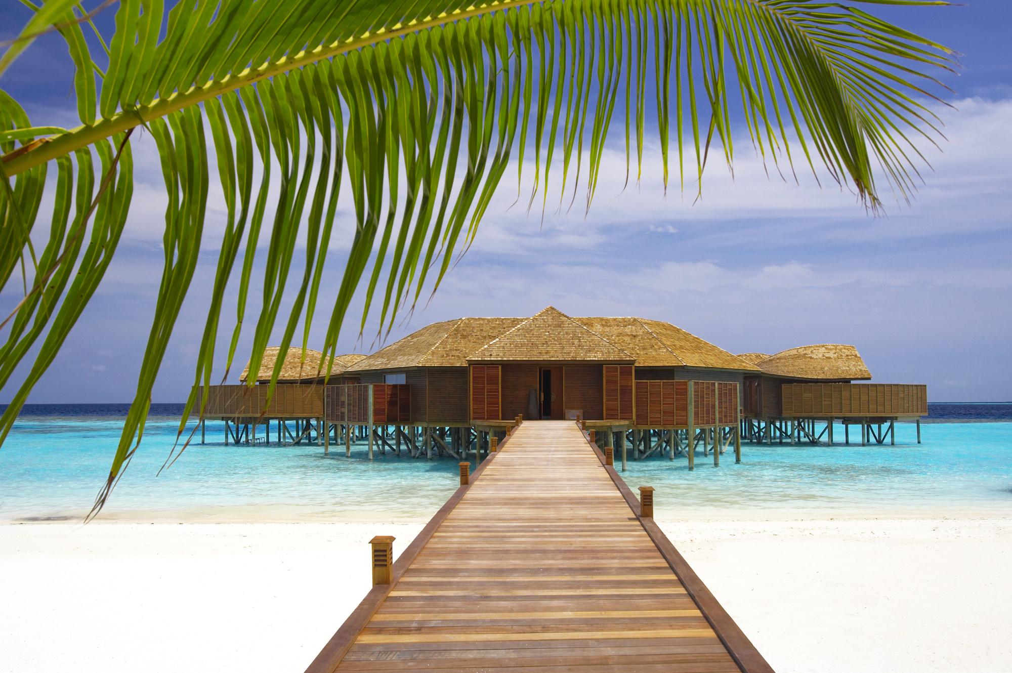 Фотообои на рабочий стол острова пляжи гостиницы