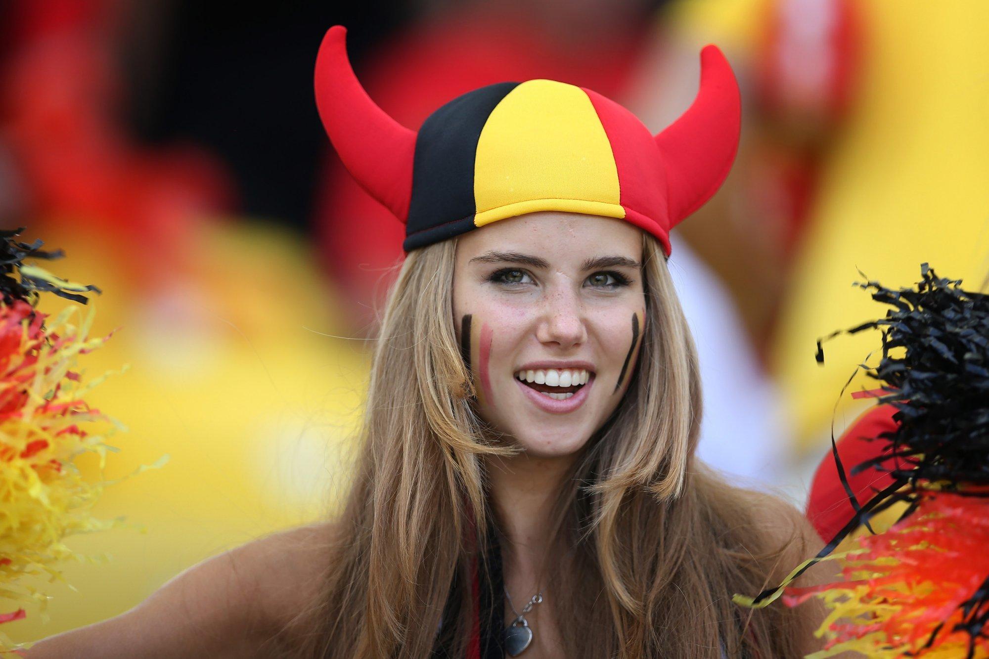 Фото красивых девушек бельгии
