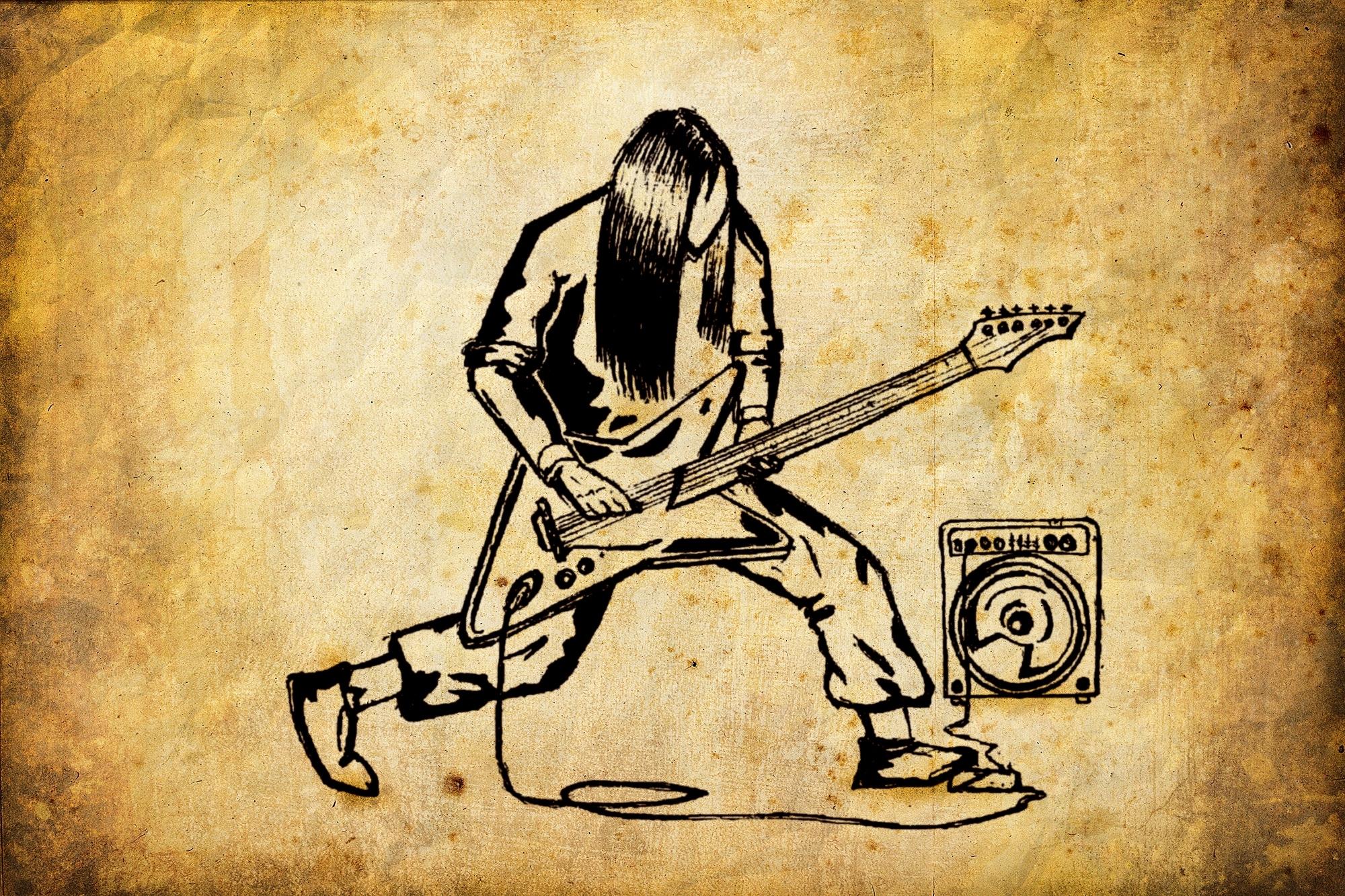 Спортивная, крутые рок картинки для срисовки