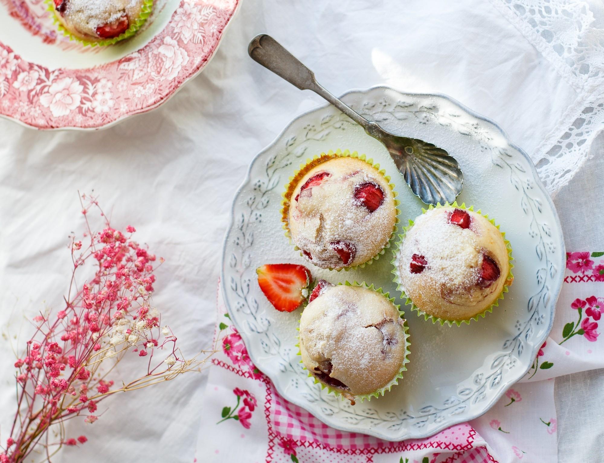 еда ягоды кексы  № 2152793 бесплатно