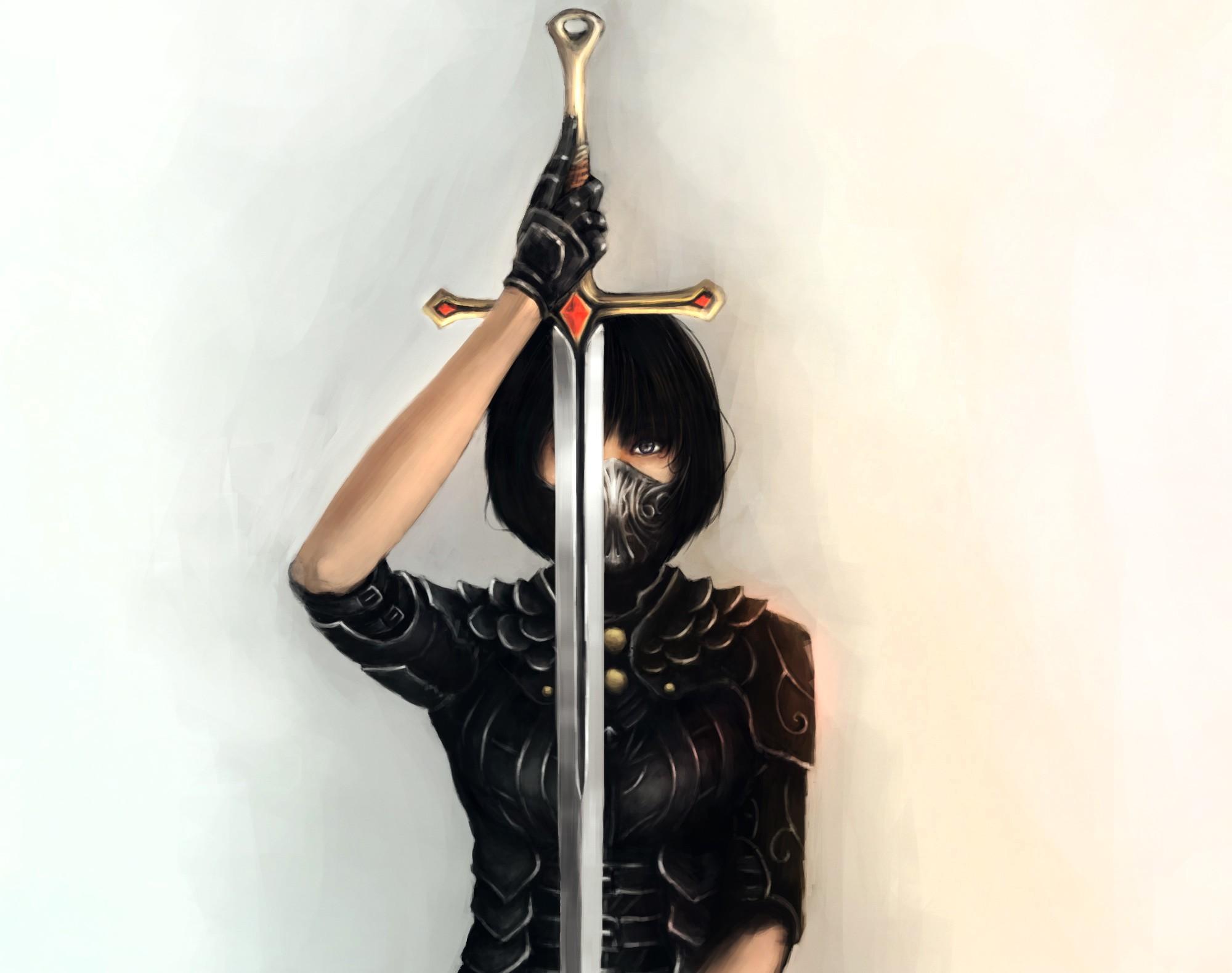 Картинки воины в масках
