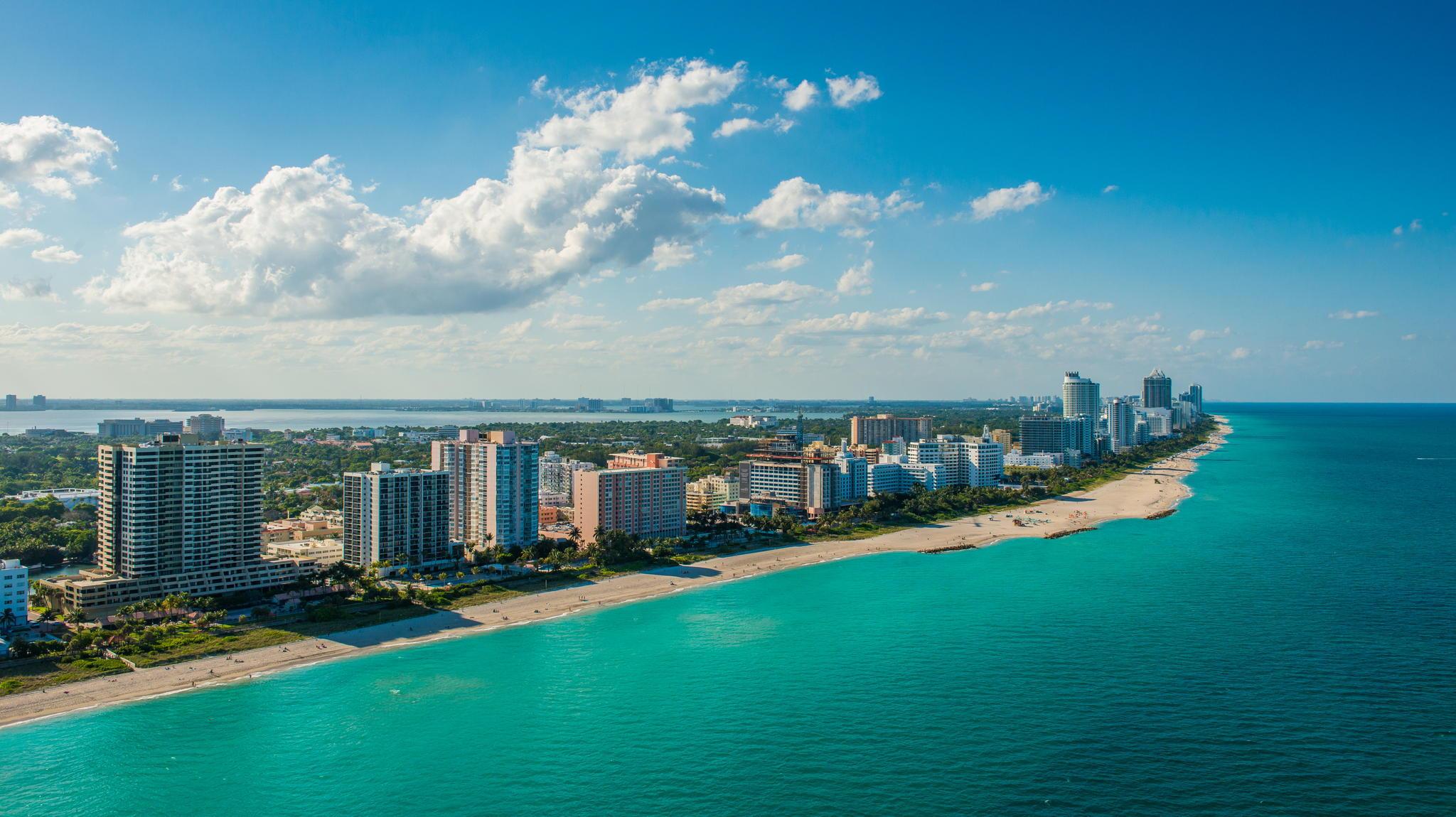 Майами США страны архитектура пляж  № 2229440  скачать