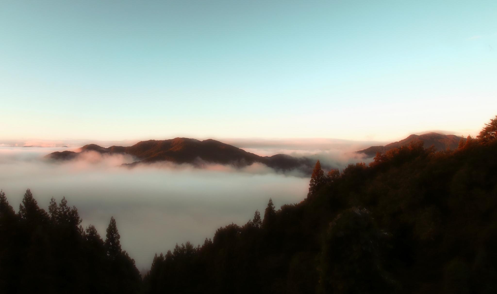 туман в горах1  № 394521 бесплатно