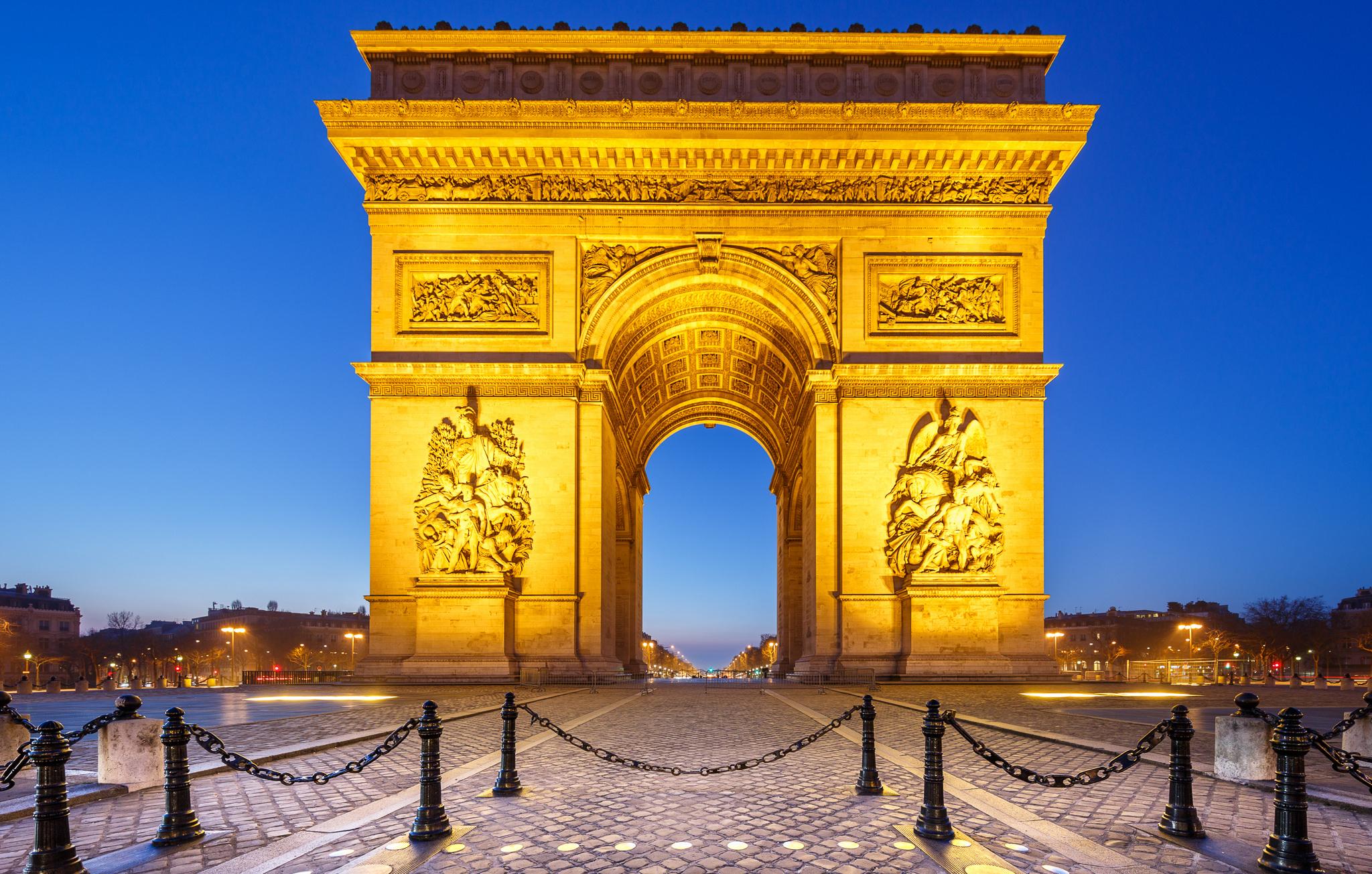 paris arc de triomphe - HD1920×1200