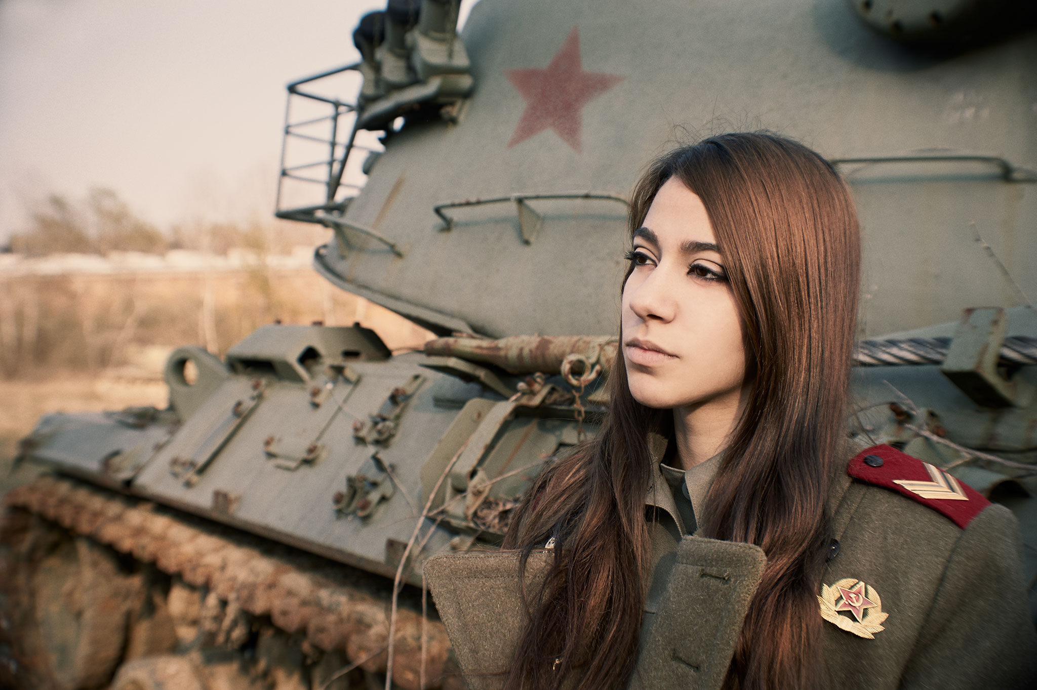 Телки в военной форме, Порно фото из категории Военные - 26 эротических фото 17 фотография