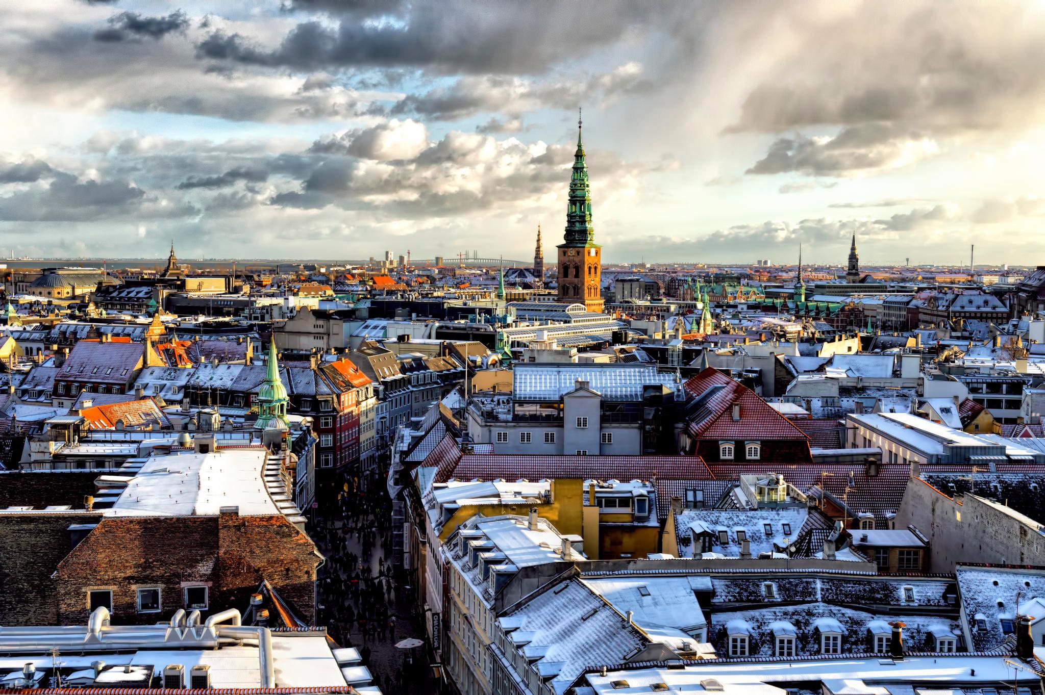 Крыши петербурга обои на рабочий стол