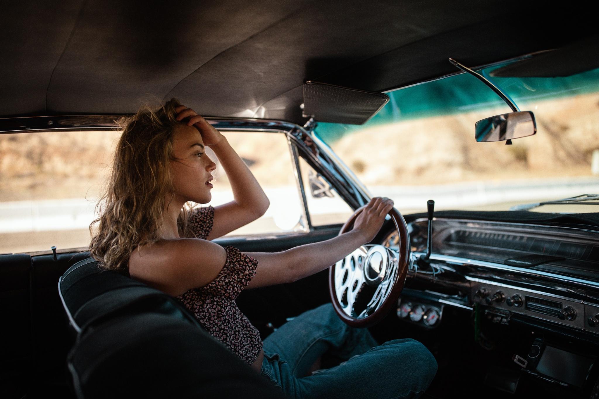 В машине красивые картинки