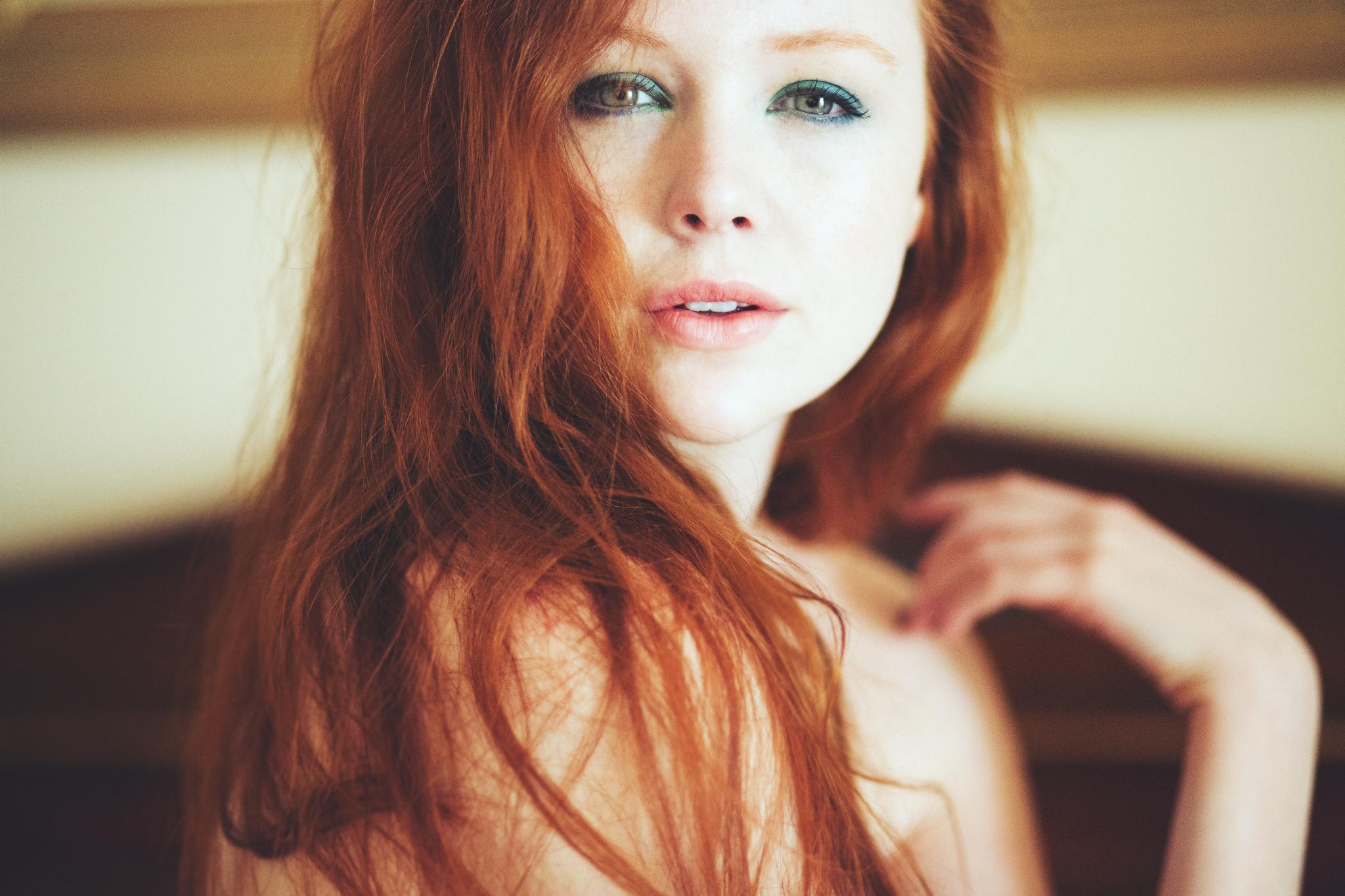 Красивые рыжие девушки с интернета смотреть