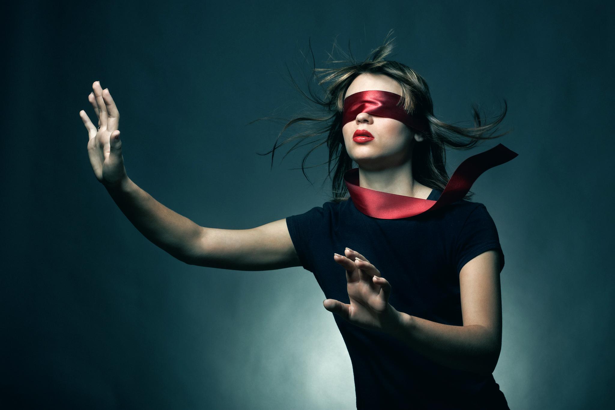Картинки слепая девочка