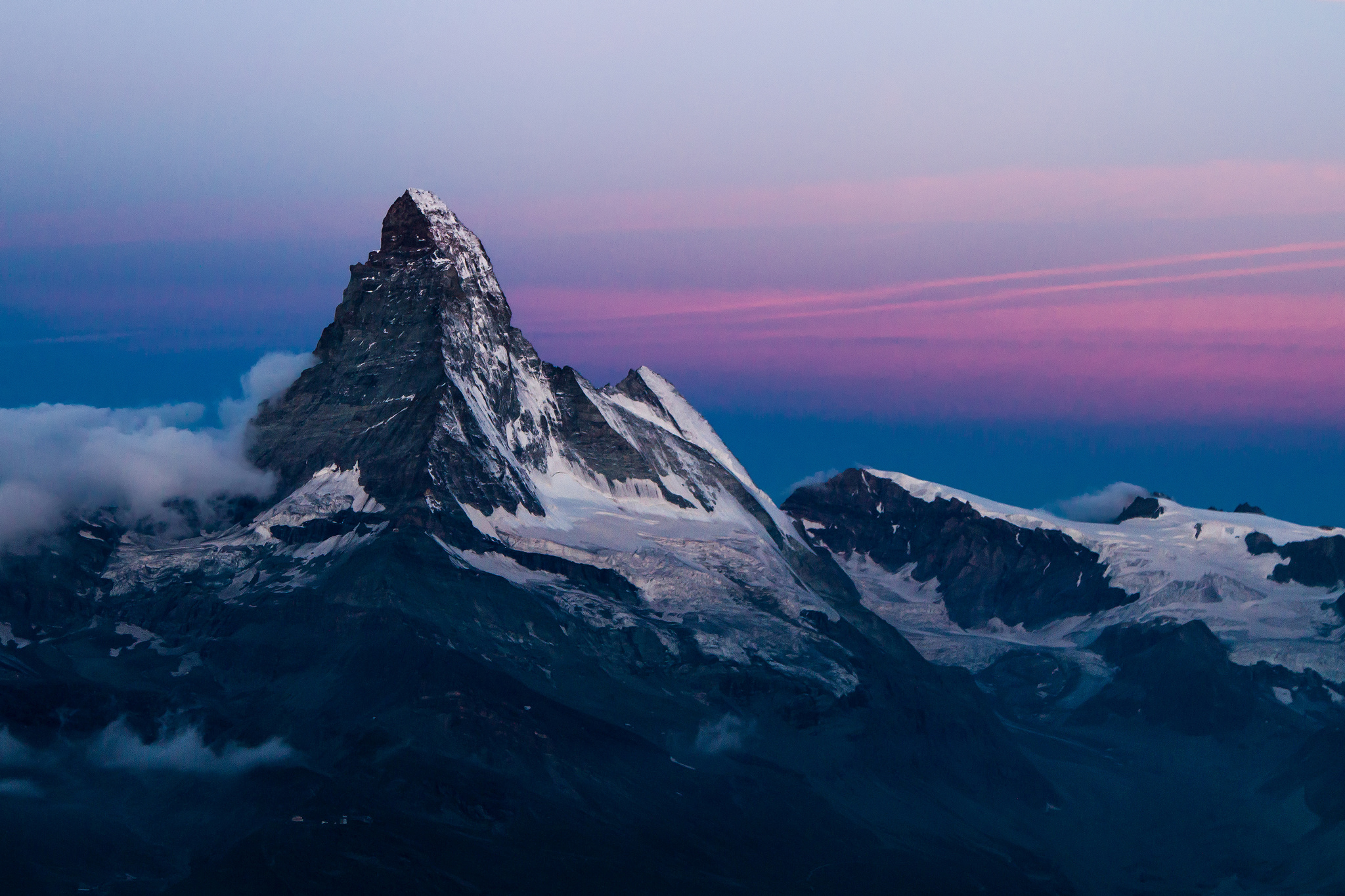 природа небо облака горы скалы  № 514744  скачать