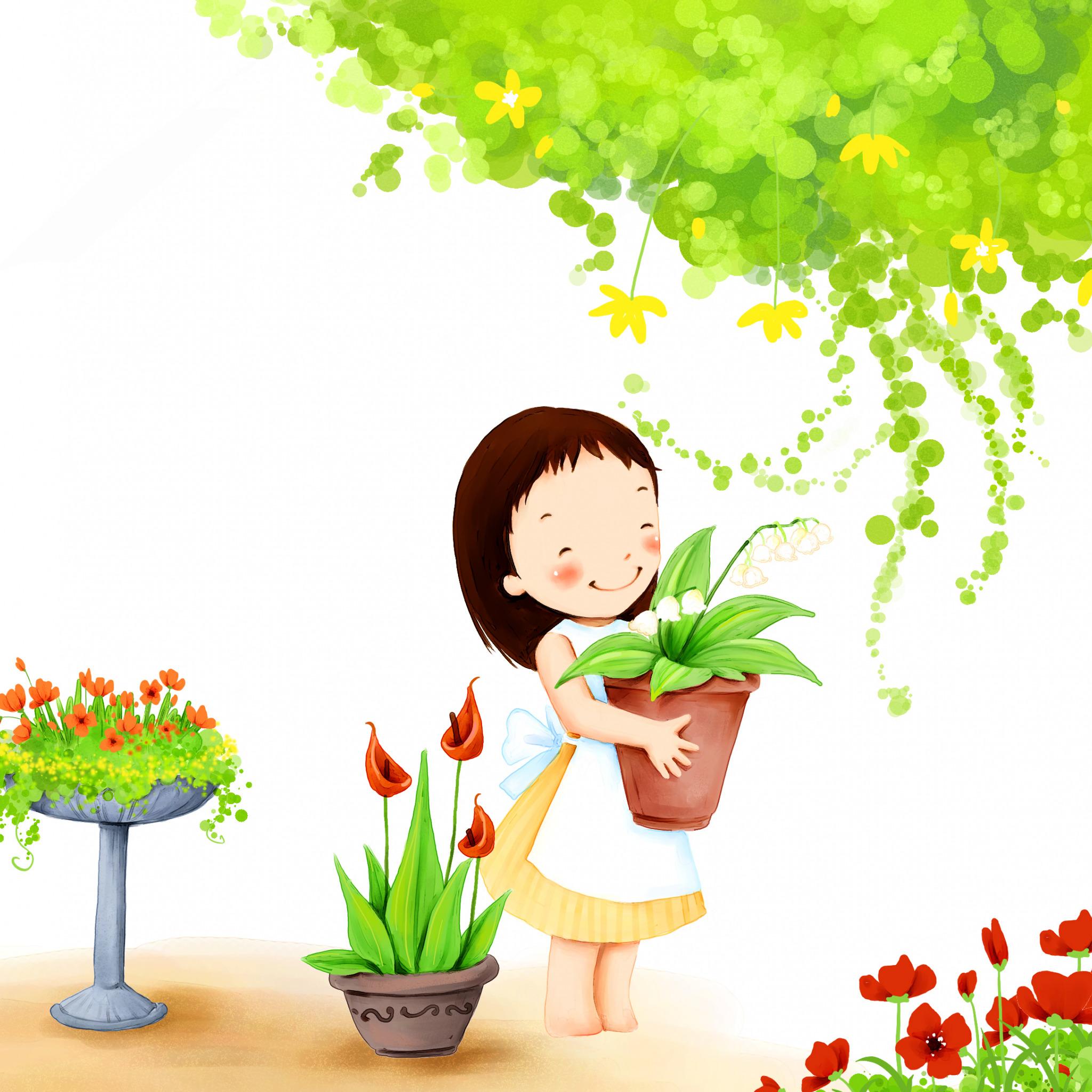 Картинки для сада девочка