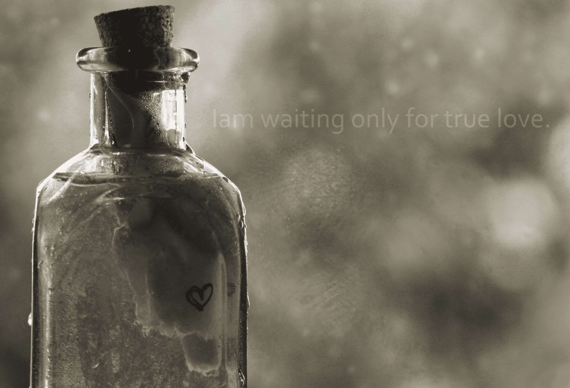 бутылка с запиской  № 2294805 без смс