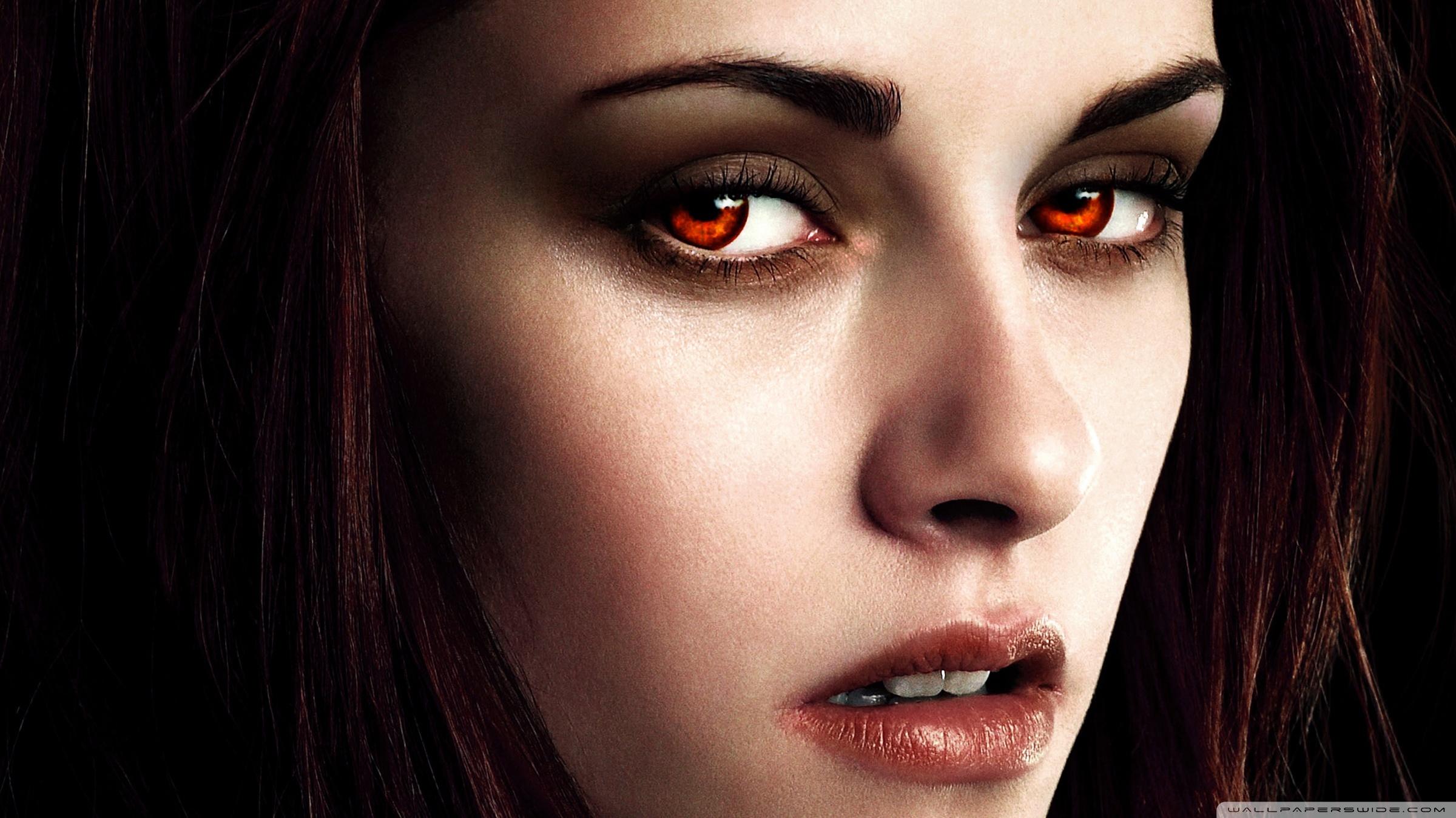 Скачать Обои Девушки С Глазами Вампира