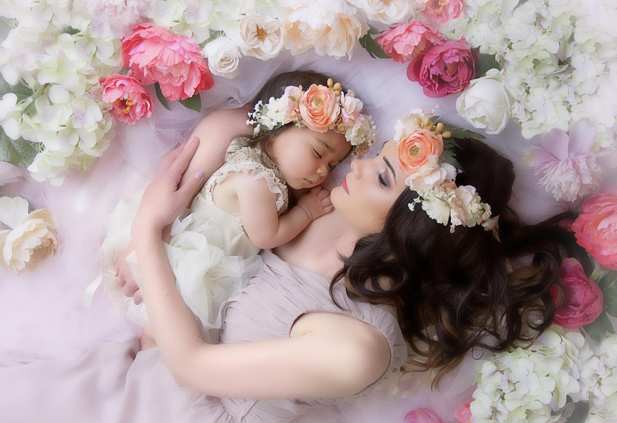 Картинки о маме и дочке, картинки