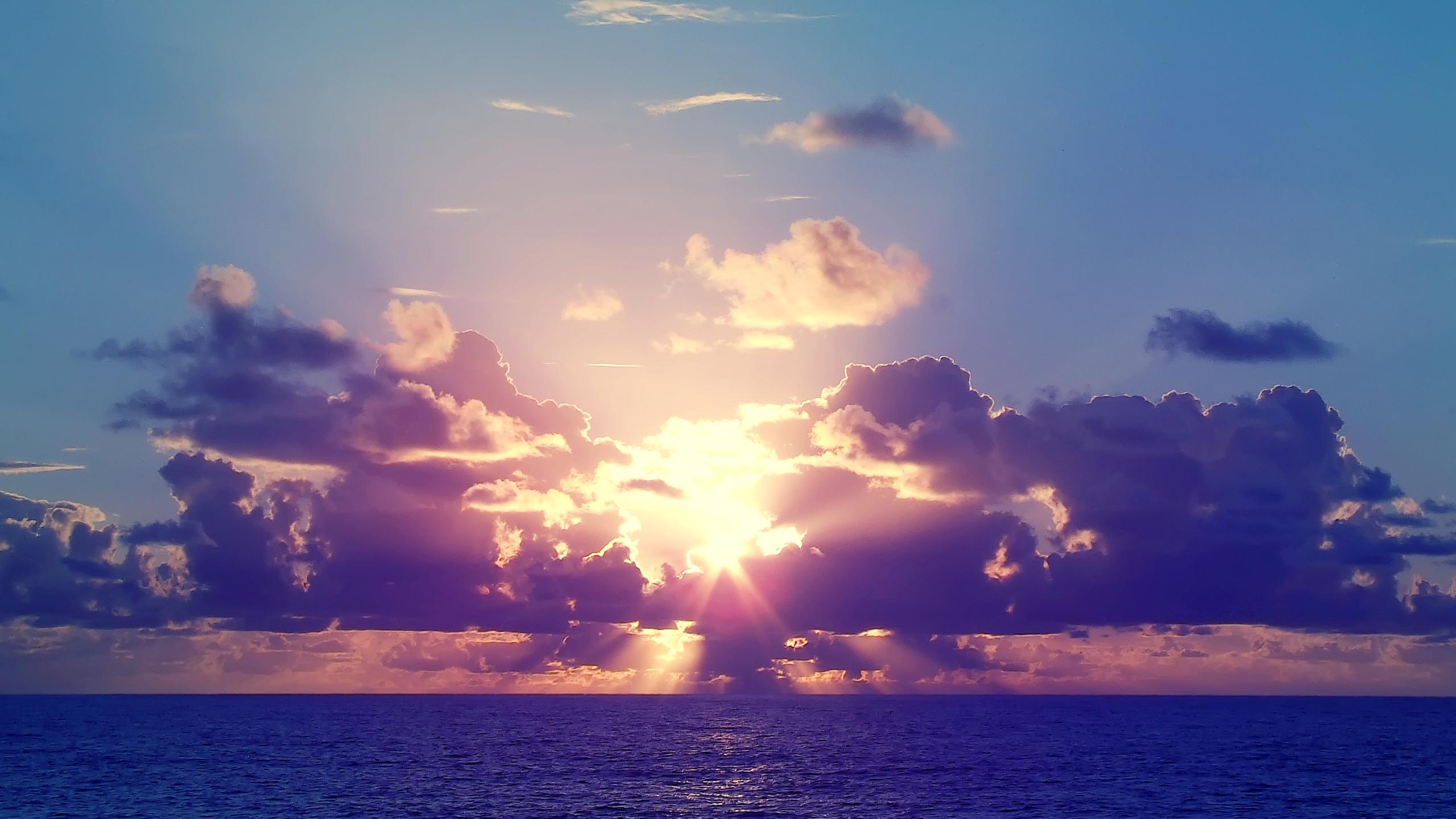 закат солнце облака  № 3851953 бесплатно