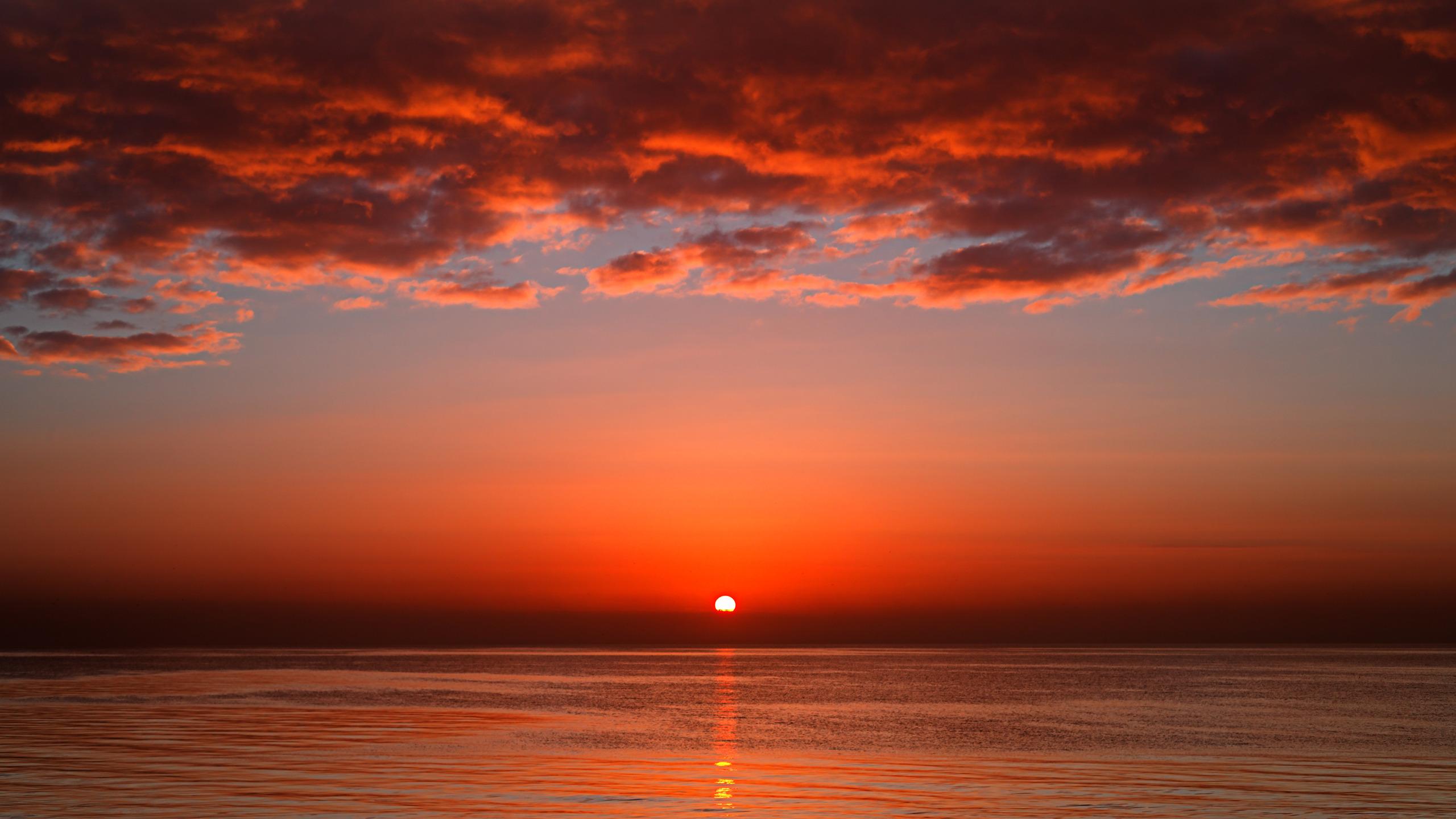 Фото для рабочего стола солнце закат