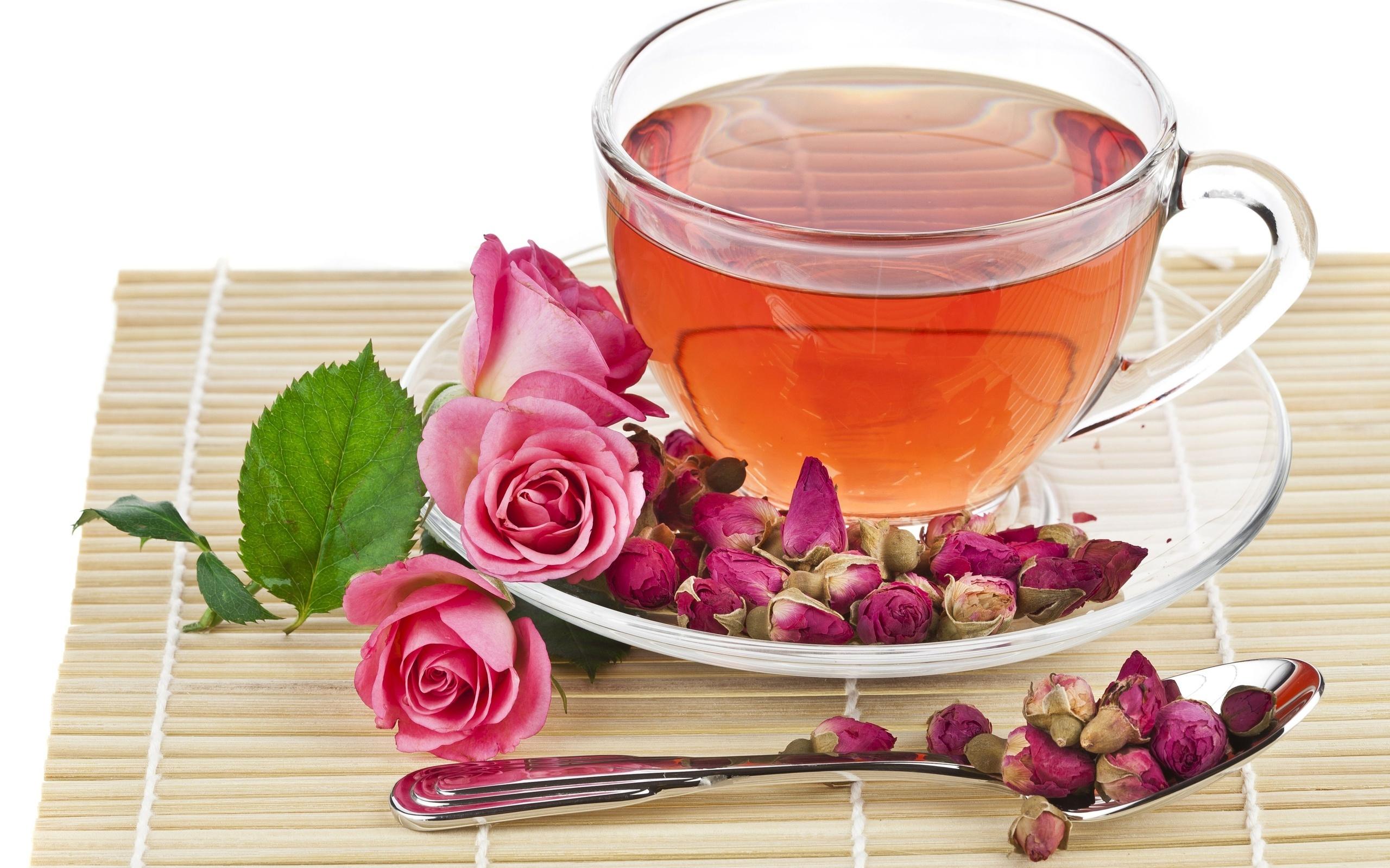 Картинки чашка чая и роза