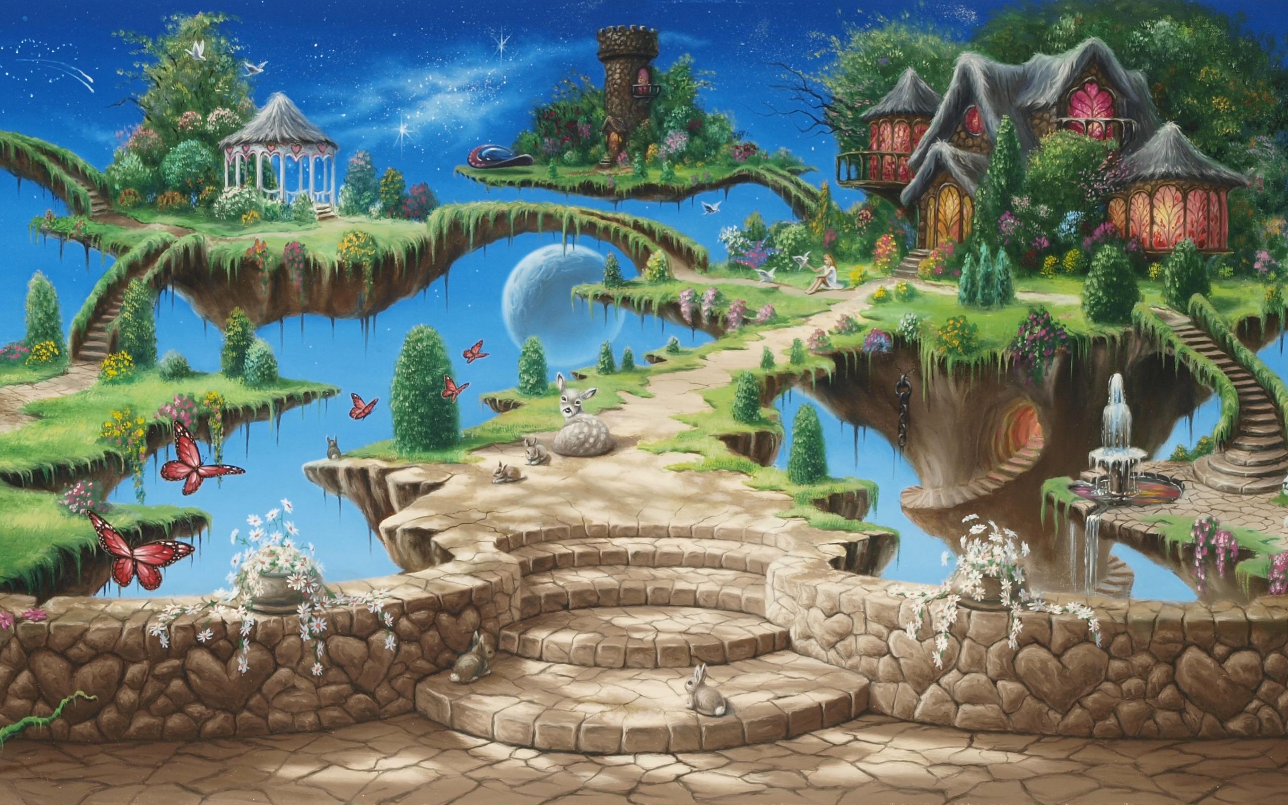Сказочные картинки в анимашках