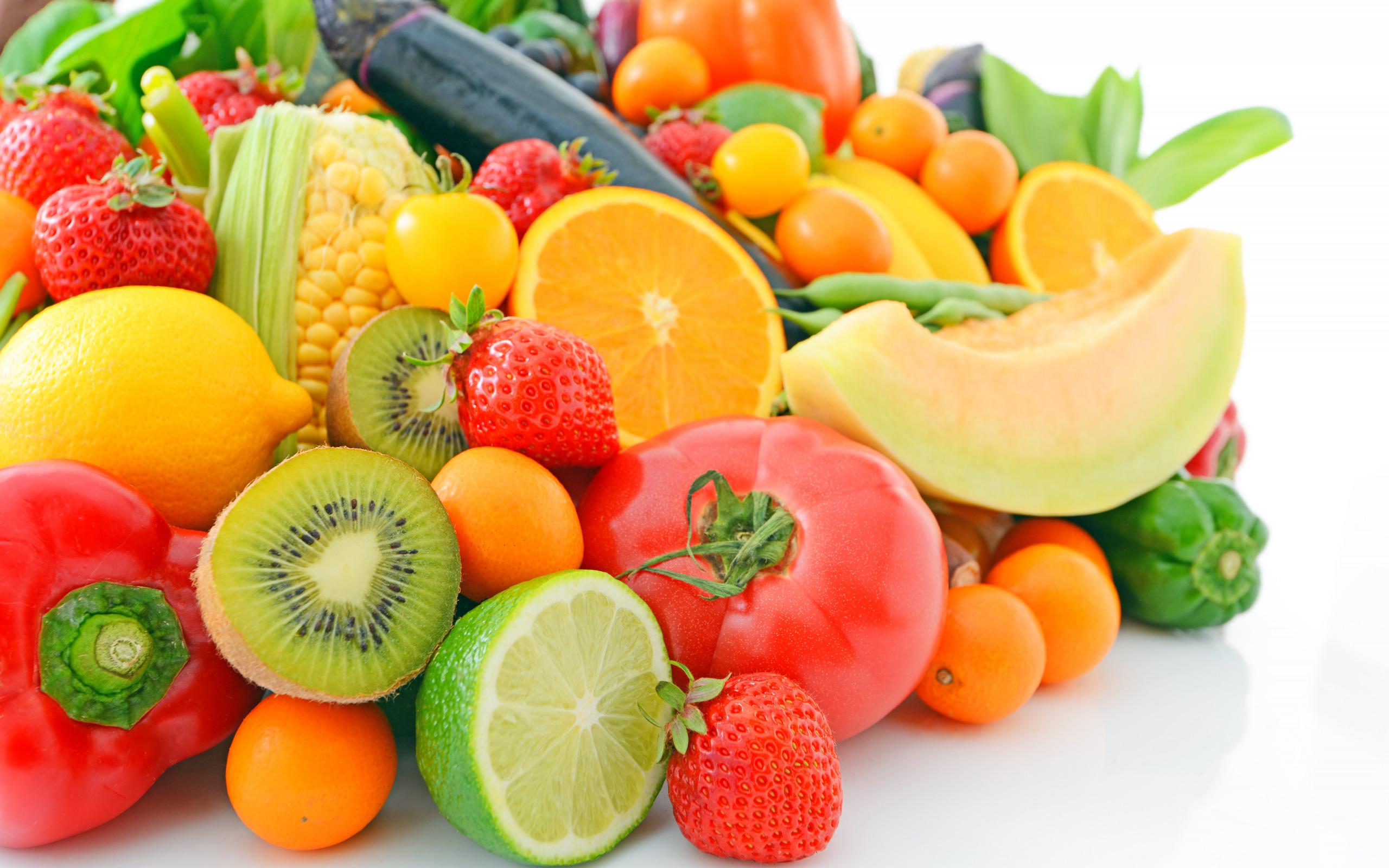 Картинки с фруктами или овощами
