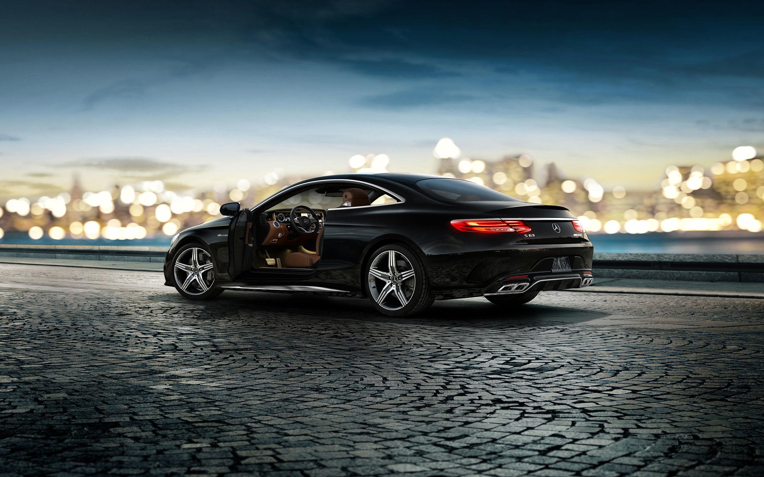 Mercedes black  № 1615464  скачать