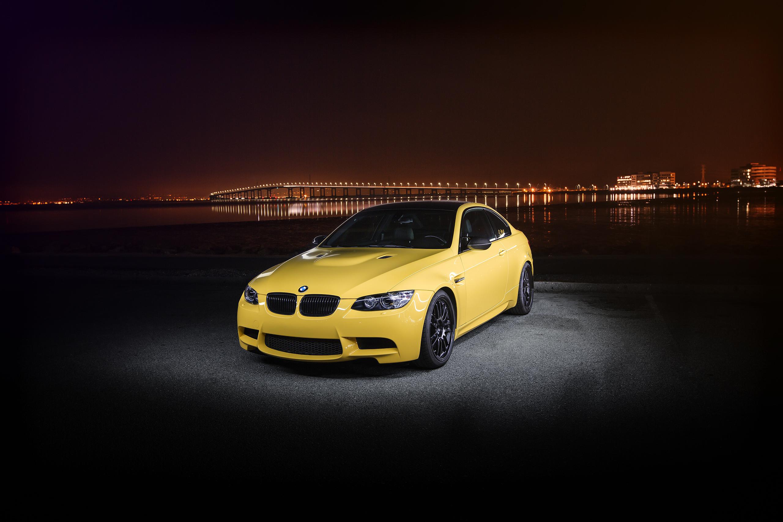 BMW M3 Желтое  № 844760 загрузить