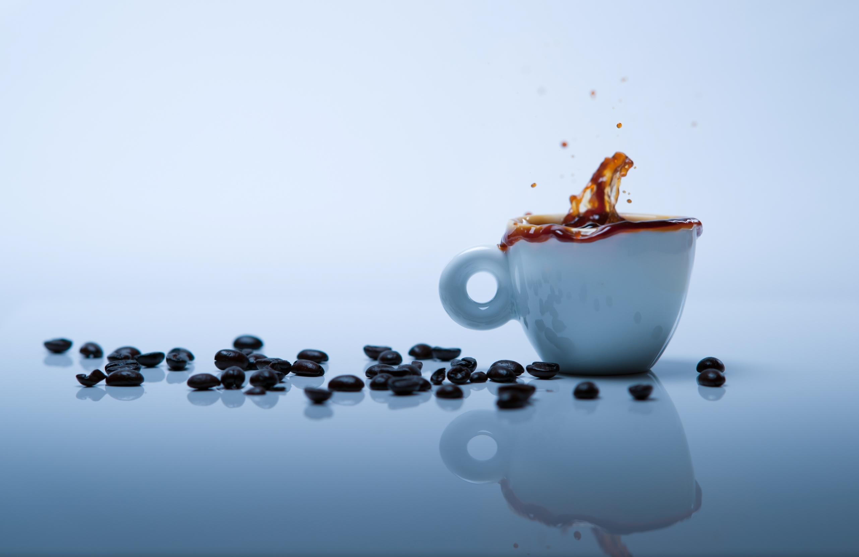 Кофе зерна чашка  № 2172407 загрузить