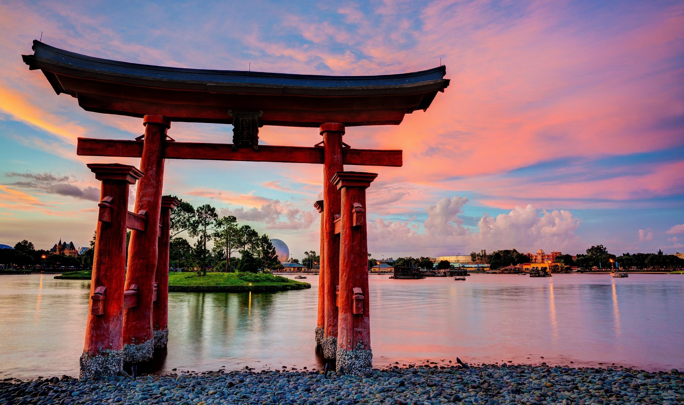 это искусство японские ворота тории фото можете узнать