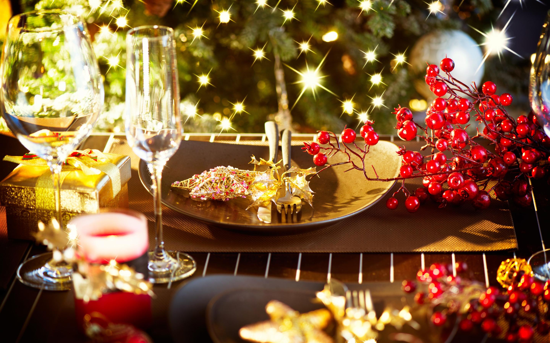 Картинки красивый стол новый год, для мамы