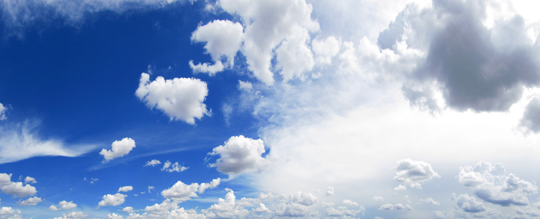 Облака в голубом небе  № 1666042 без смс