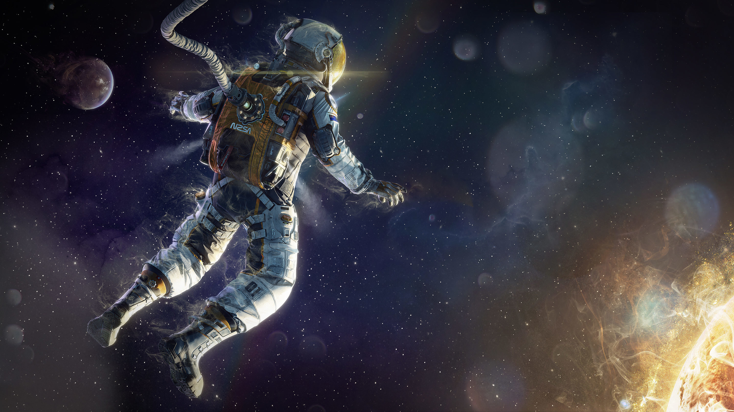 astronaut spacewalk for android - HD2560×1600