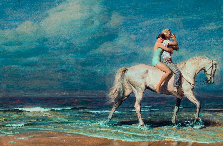 Старый и молодой кони 24 фотография