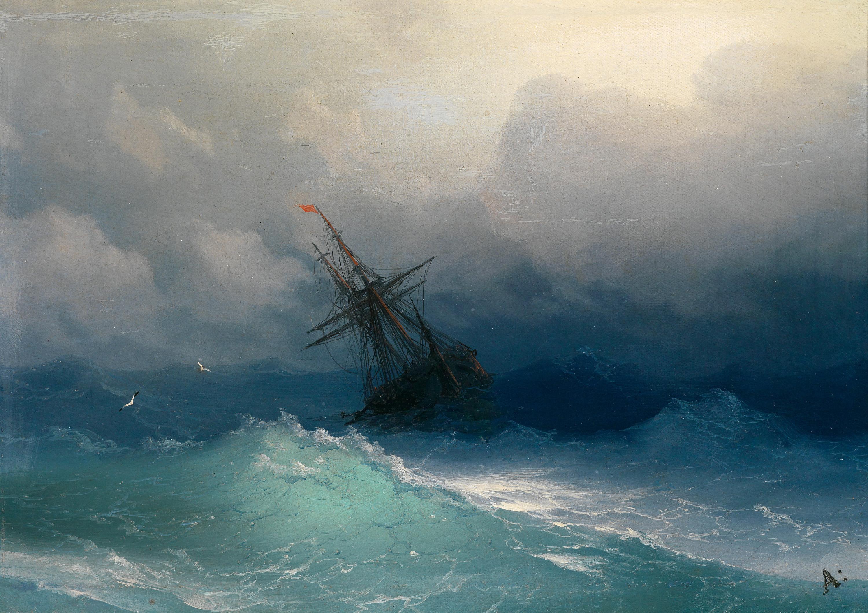 Картинки буря на мор