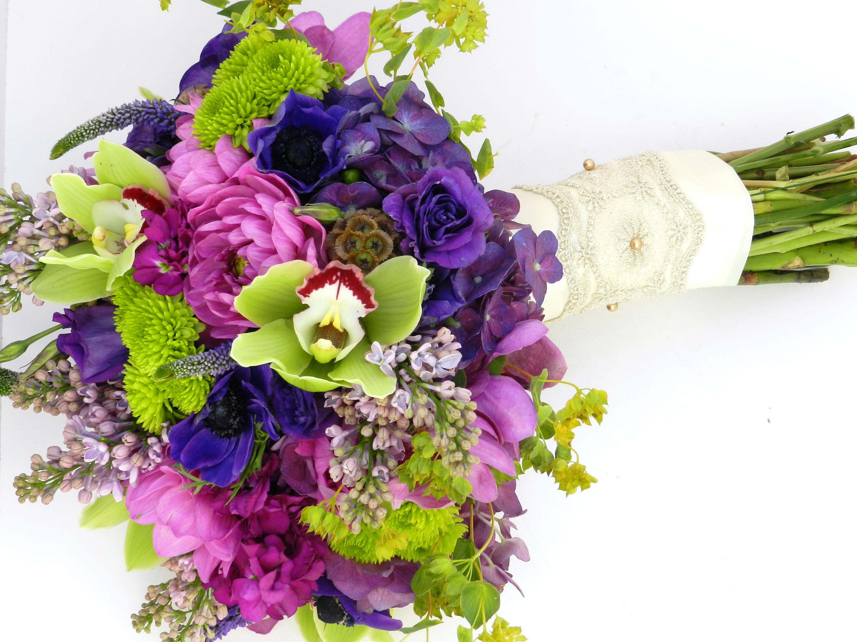 Красивые букеты орхидей в высоком качестве фото