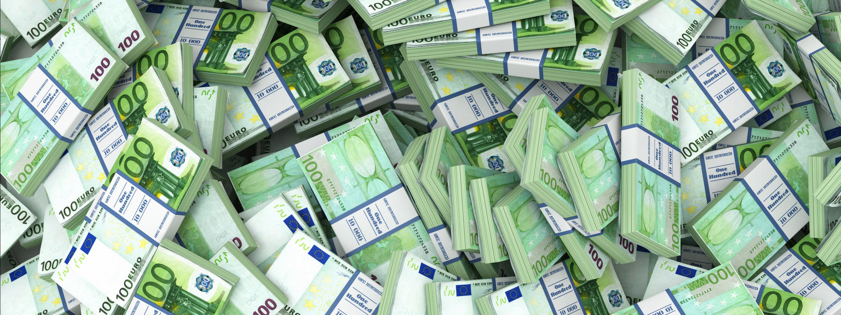 Картинки евро деньги много
