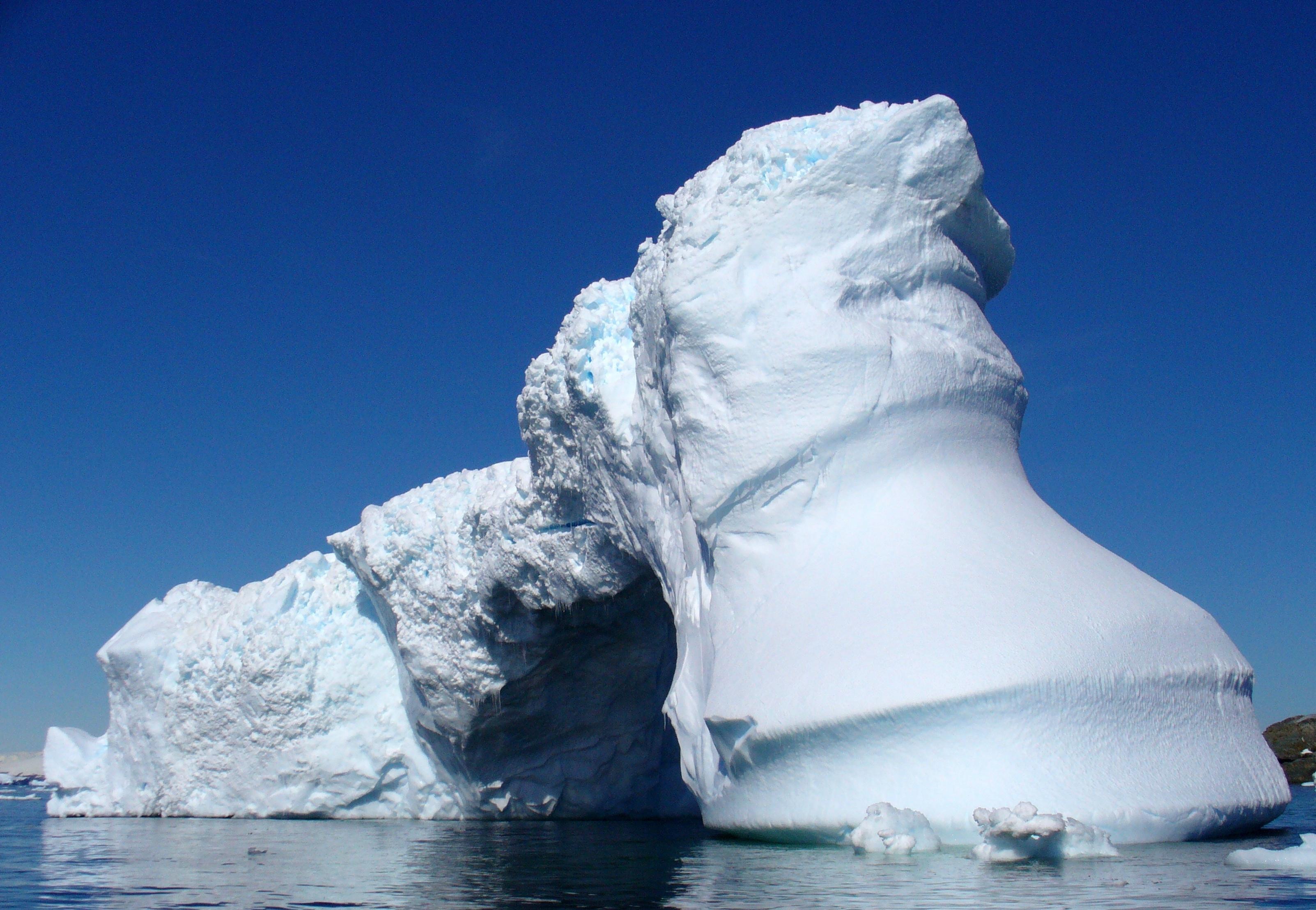 ледяные глыбы небо  № 2863255 бесплатно