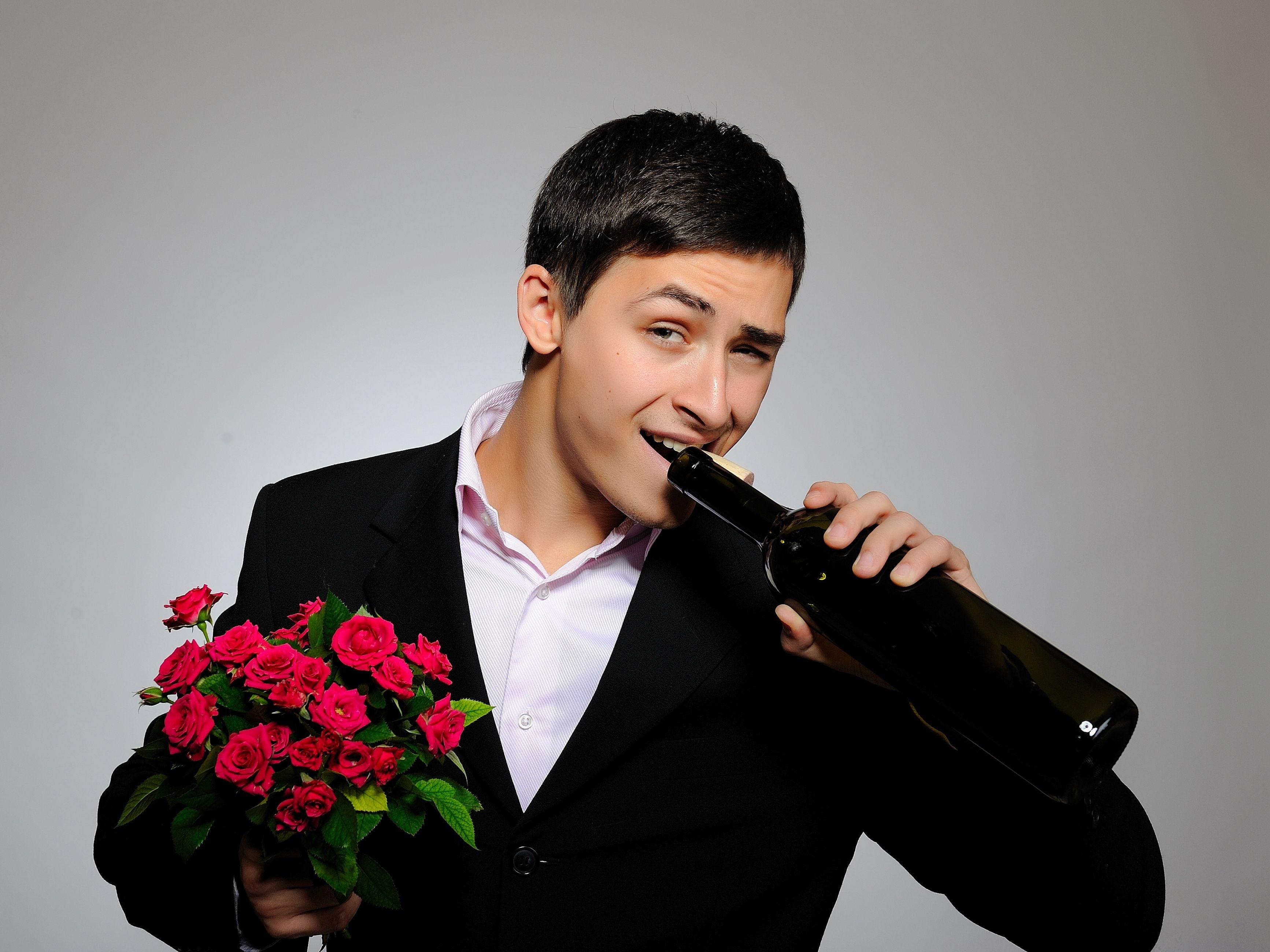 даже мужчина с розами картинки данном