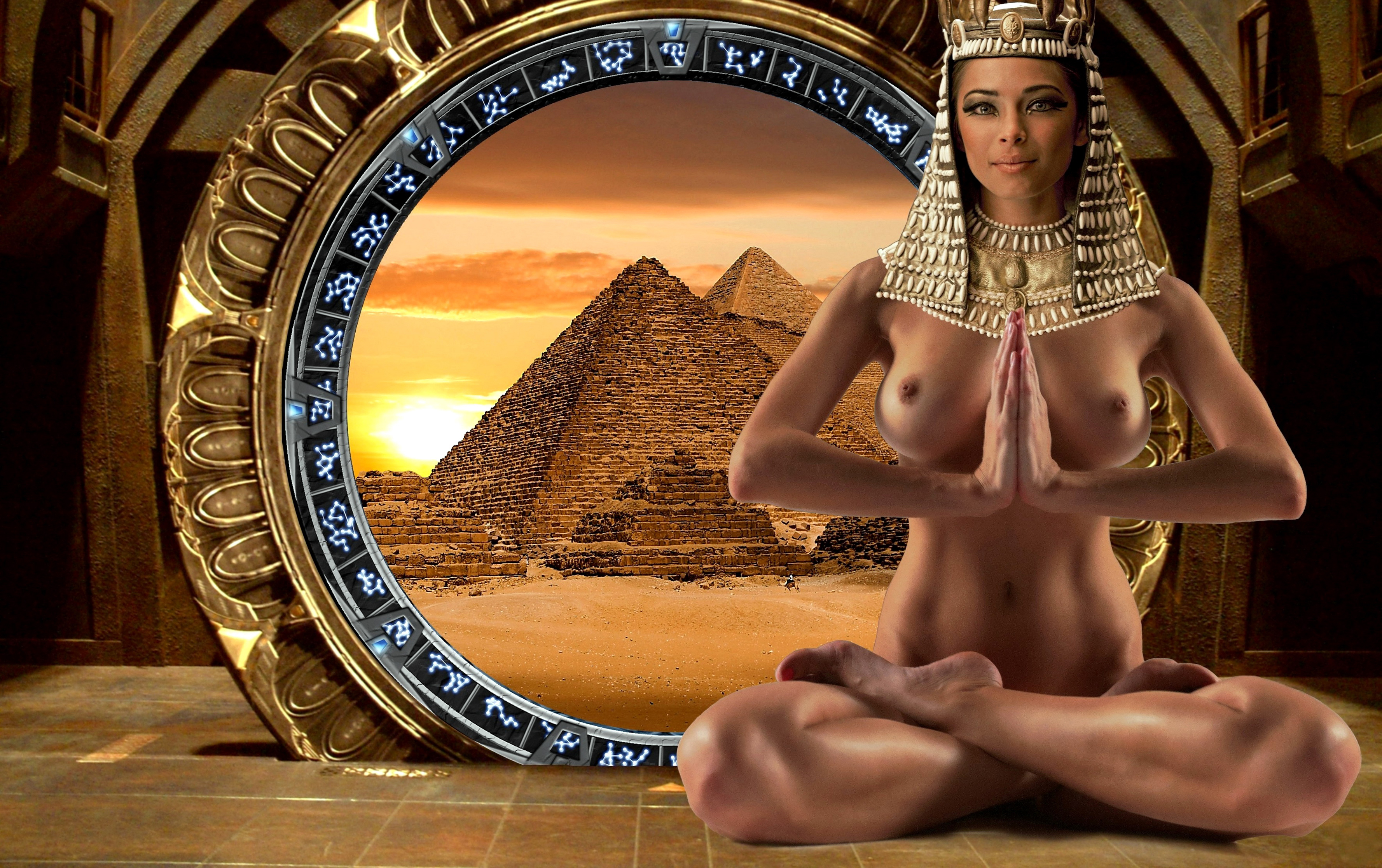 Египетская жрица порно