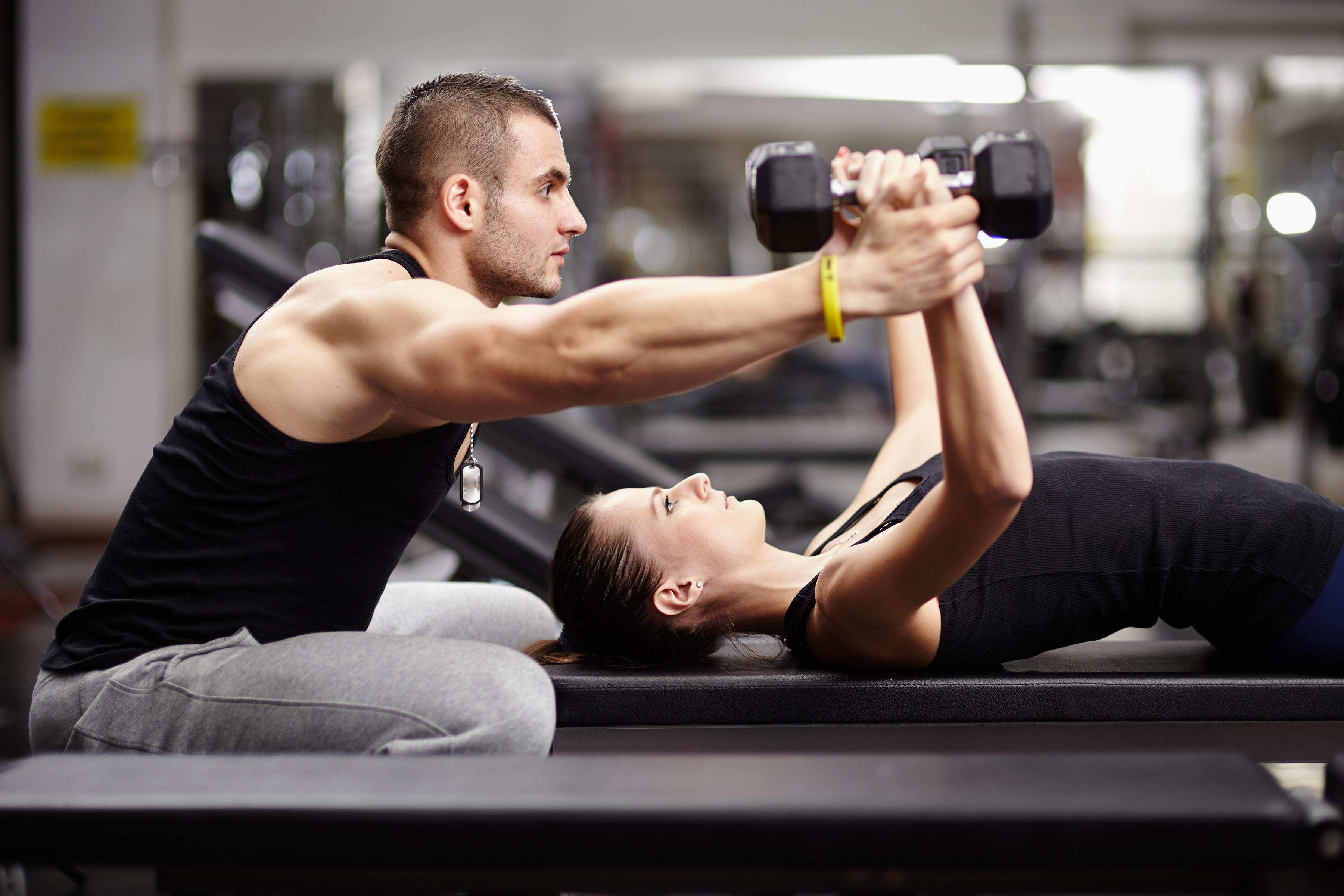 Картинка фитнес тренер