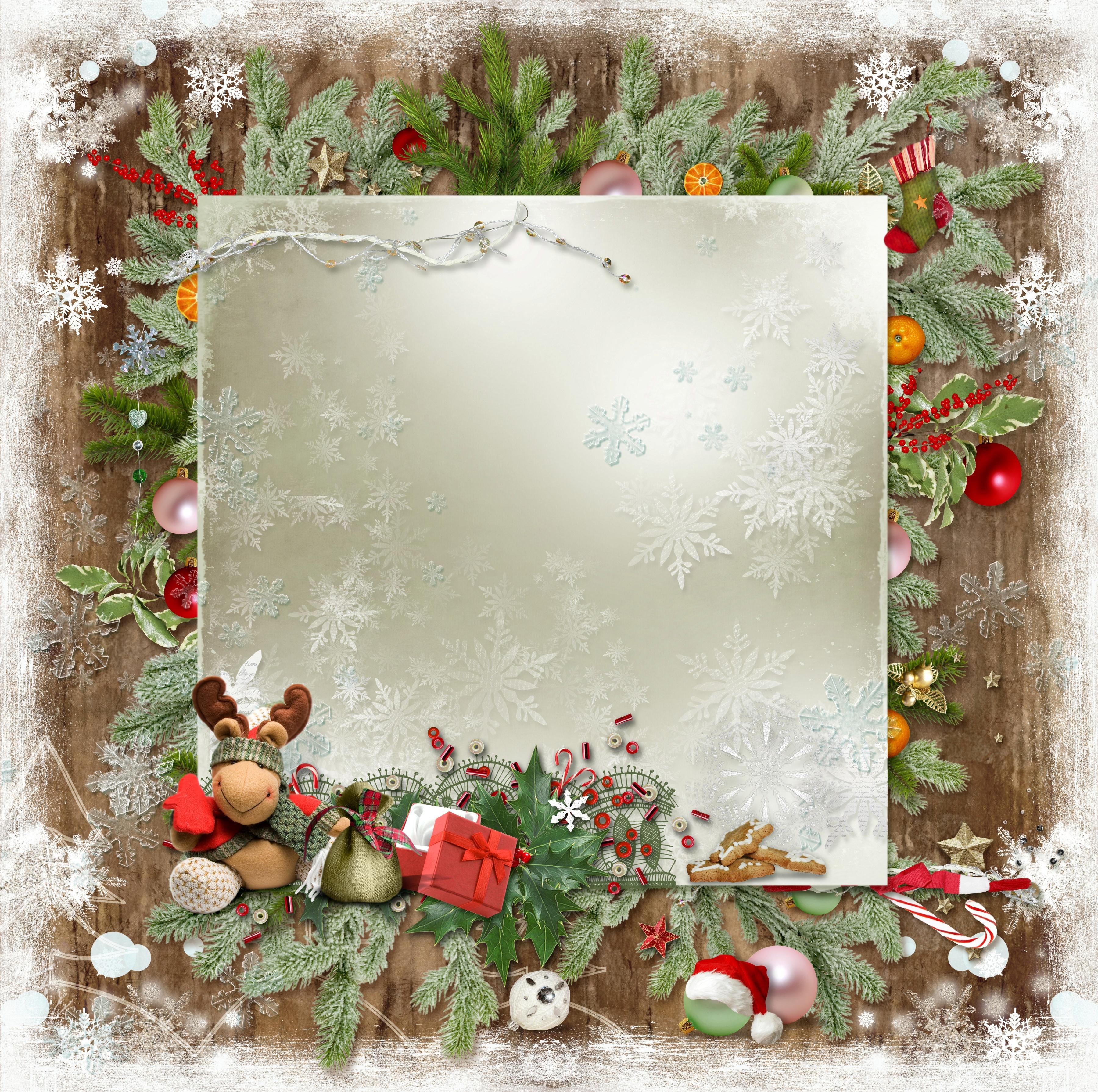 Образец новогодних открыток