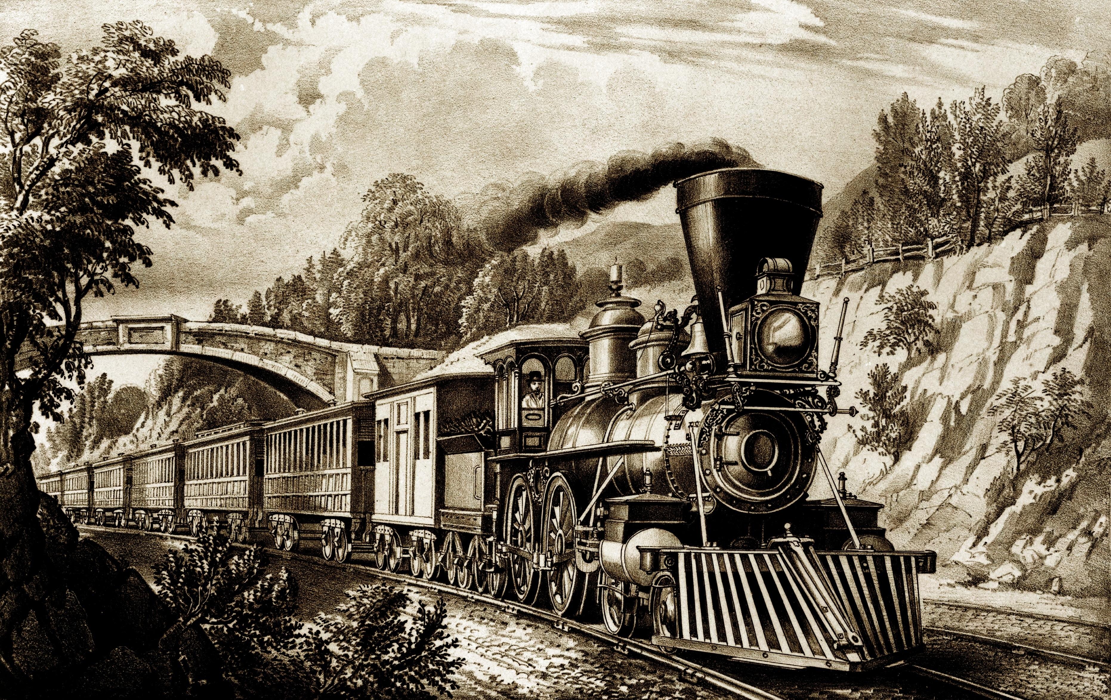 Марта своими, открытка с вагоном
