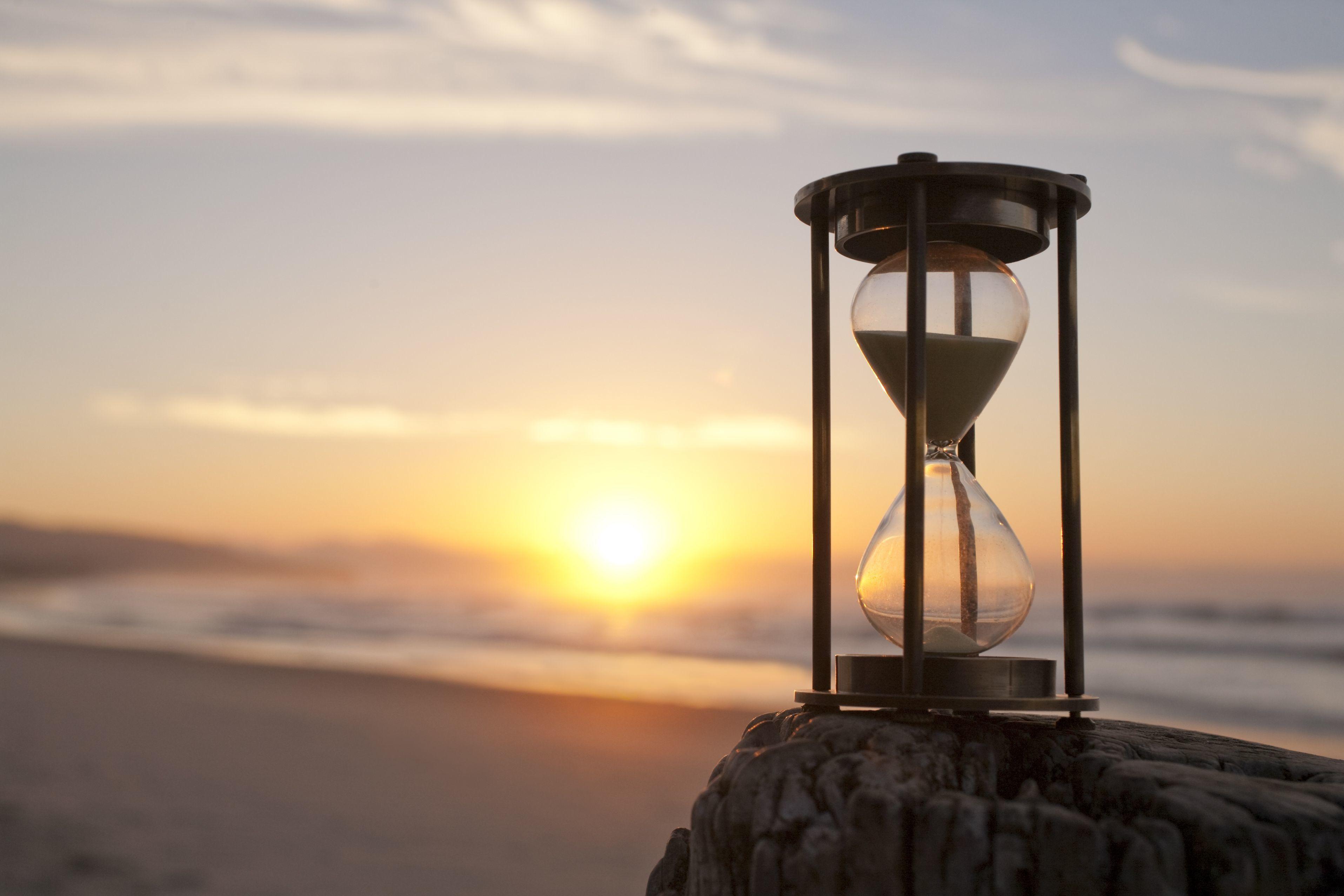 картинки на рабочий песочные часы вафель